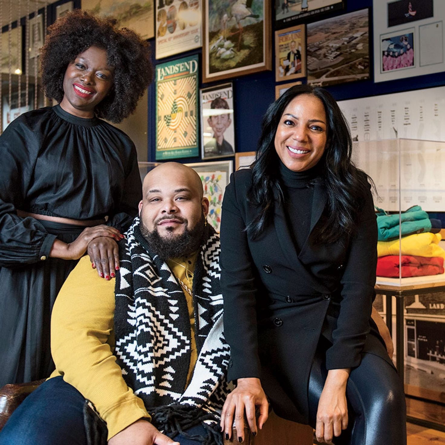 ESSENCE Partners With Chase And Lands' End On Banking On Style
