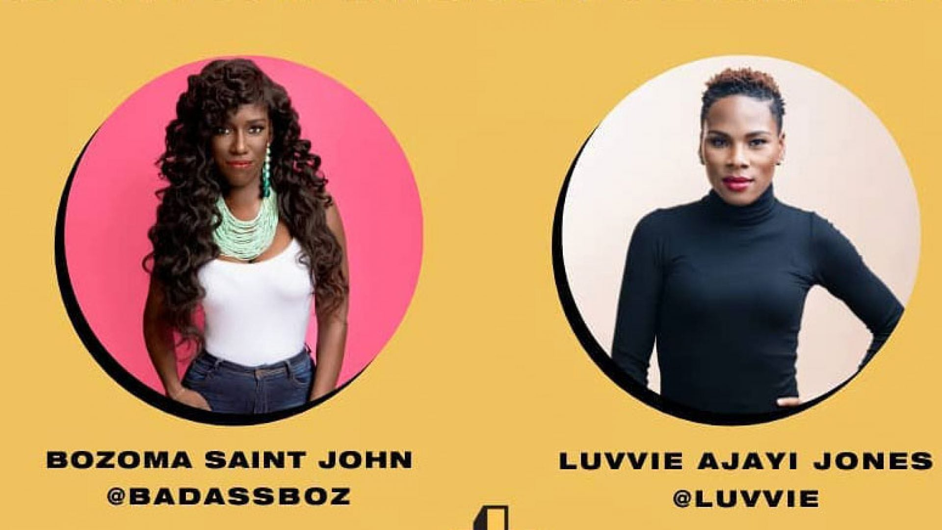 Bozoma Saint John And Luvvie Jones Detail #ShareTheMicNow