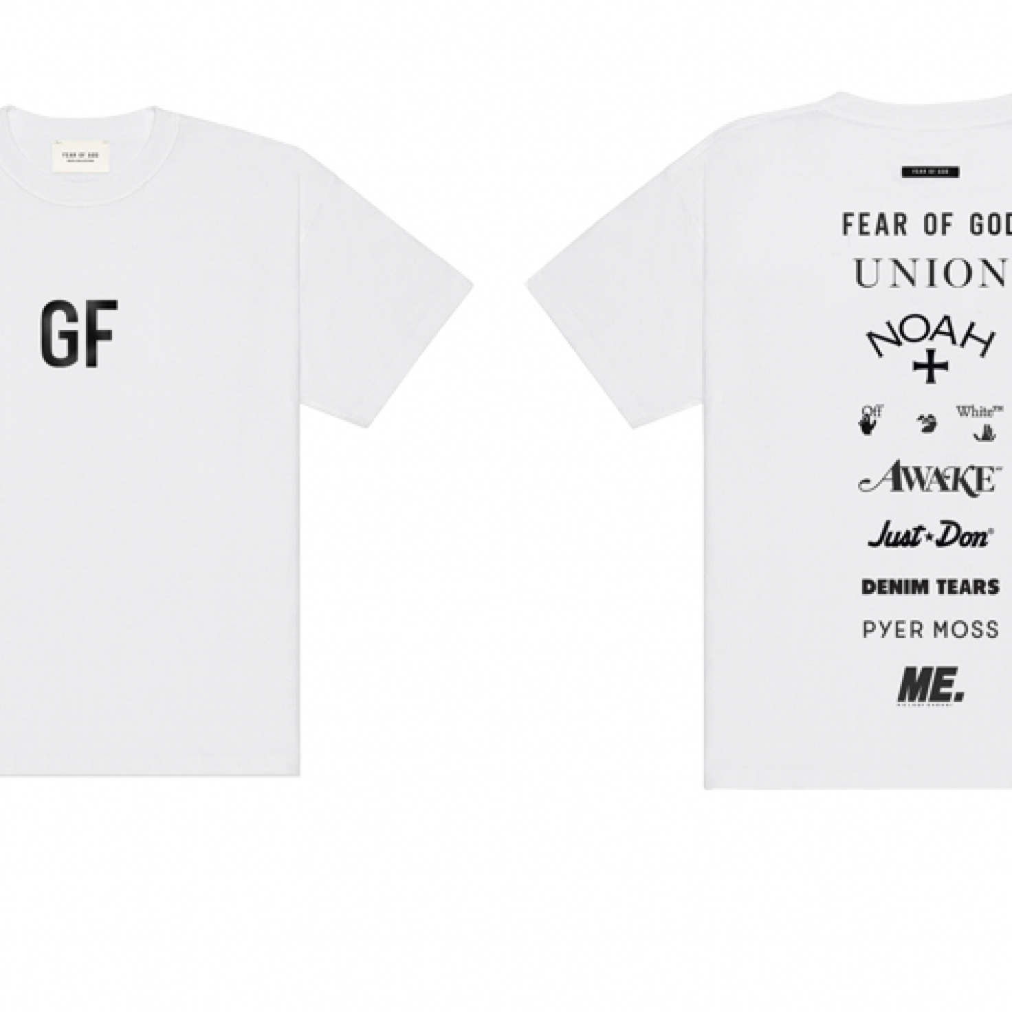 Fear Of God Launches 'GF' Tee With 100 Percent Of Proceeds Going To George Floyd's Daughter