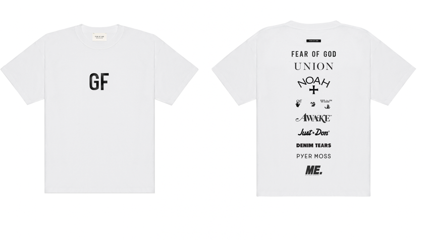 Fear Of God Launches 'GF' Tee In Support Of George Floyd