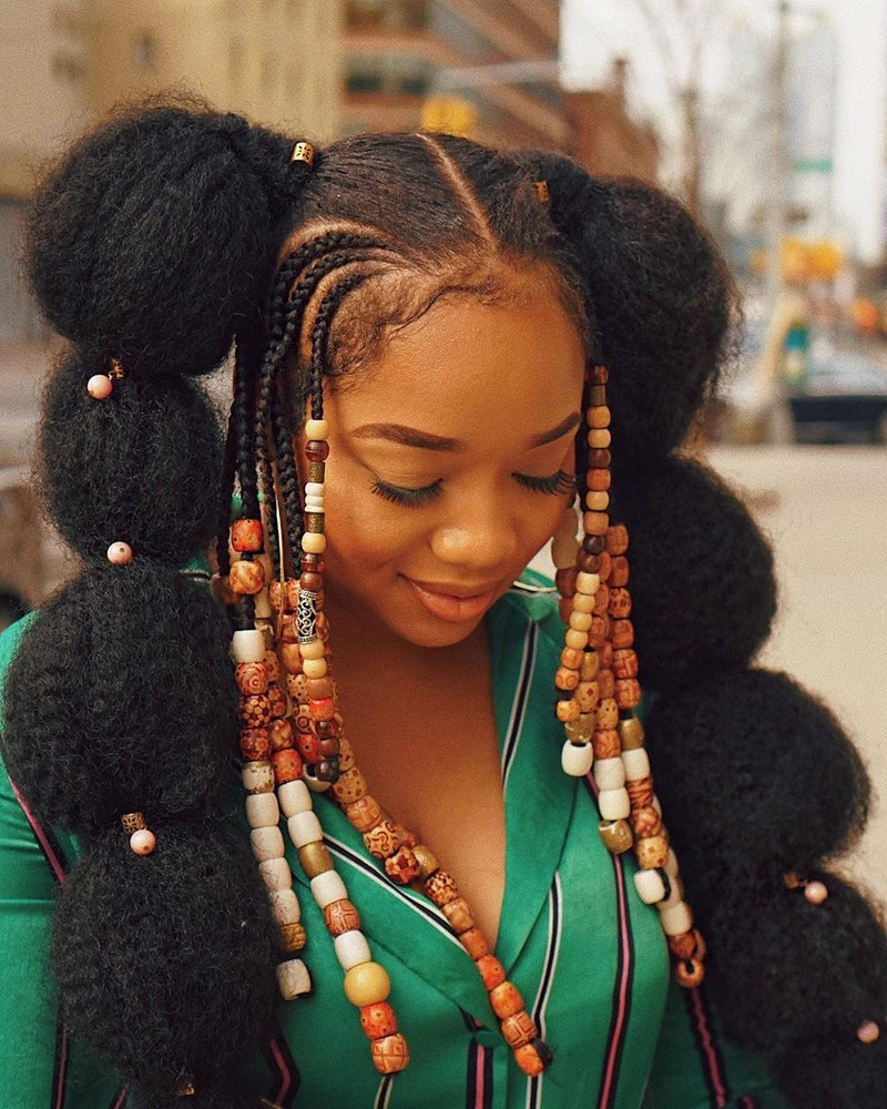 25 Beautiful Black Women In Creative Natural Hairstyles Essence
