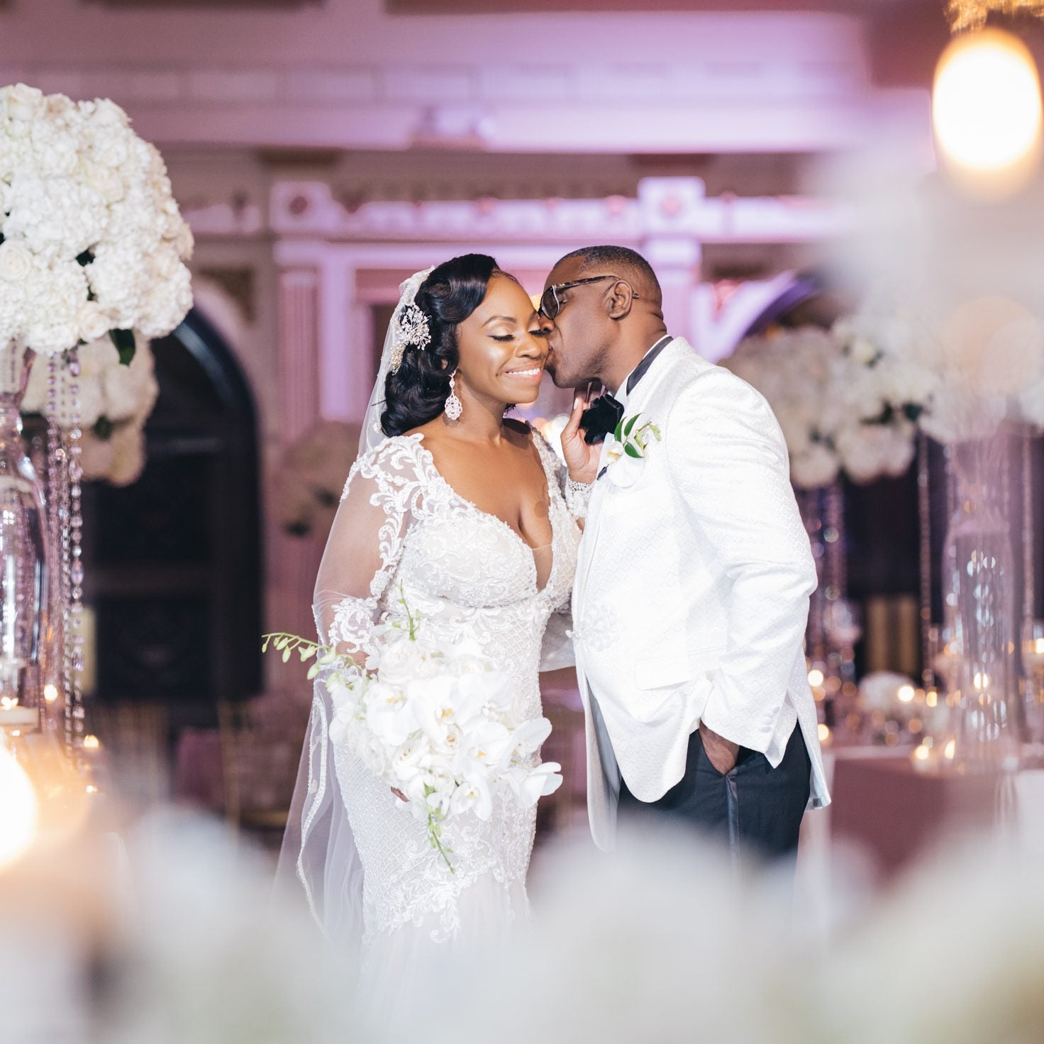 Bridal Bliss: Mia And William Had Plenty Surprises At Their Upscale Glam Wedding