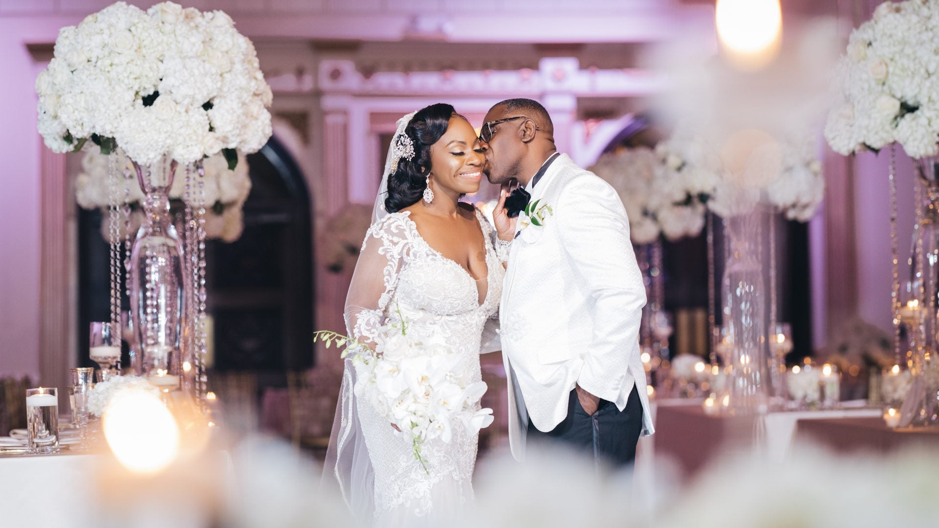 Bridal Bliss: Mia And William's Upscale Glam Wedding