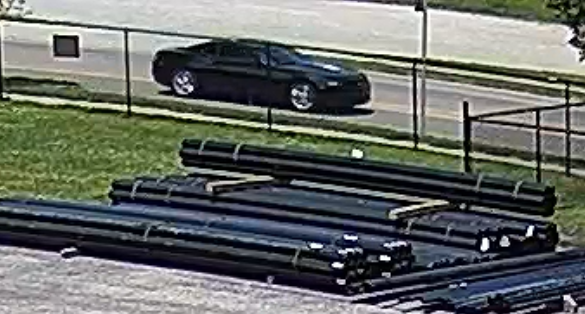 black sedan said to be involved in shooting death of Na'kia Crawford