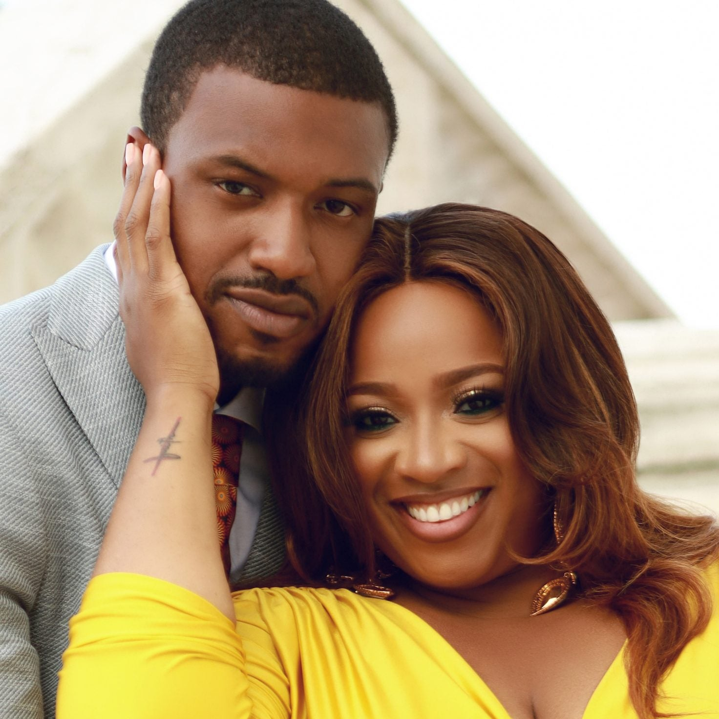 EXCLUSIVE: See Kierra Sheard and Fiancé Jordan Kelly's Engagement Photos