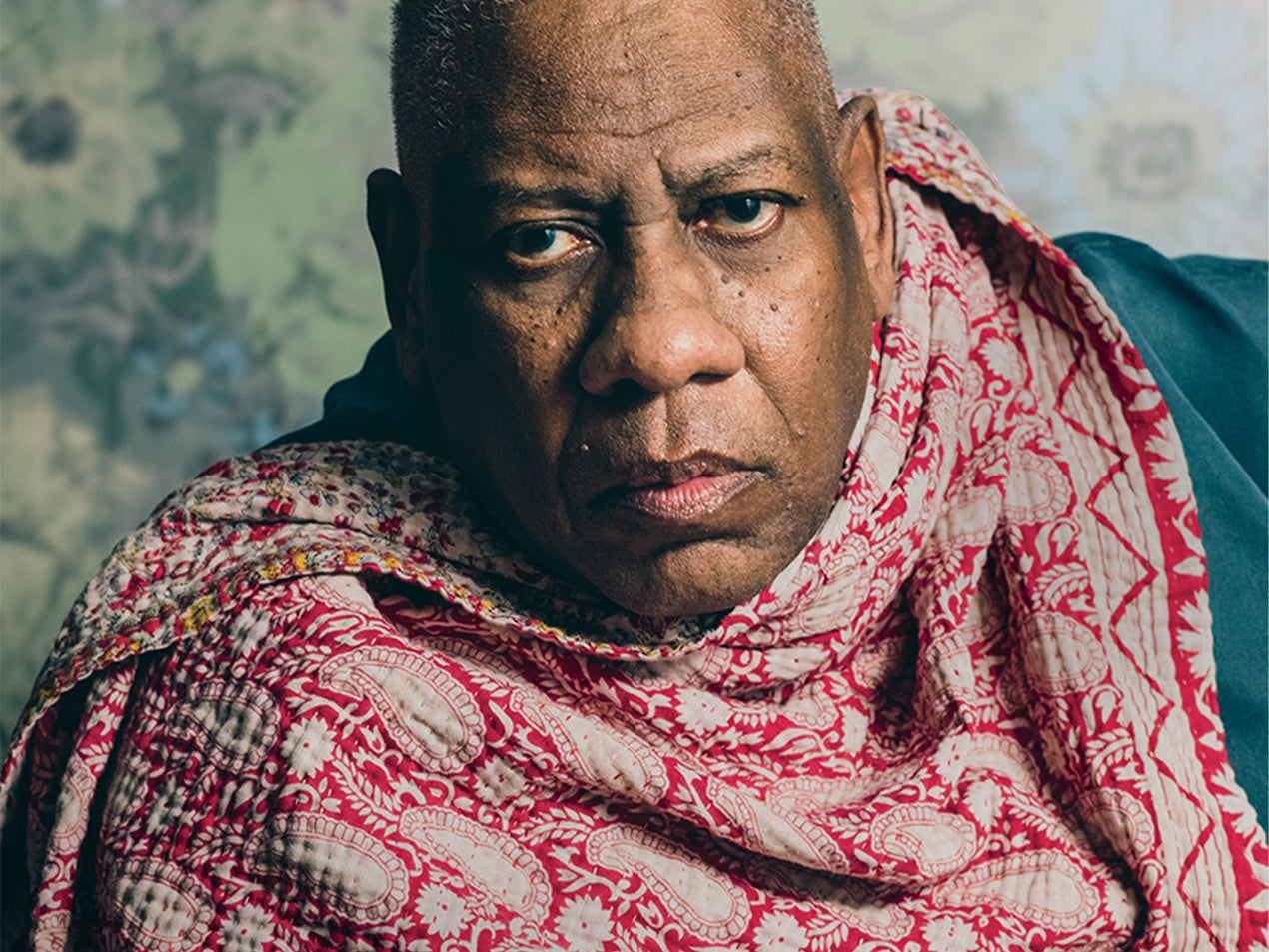 Former Vogue Editor André Leon Talley Releases Second Memoir 'Chiffon Trenches'