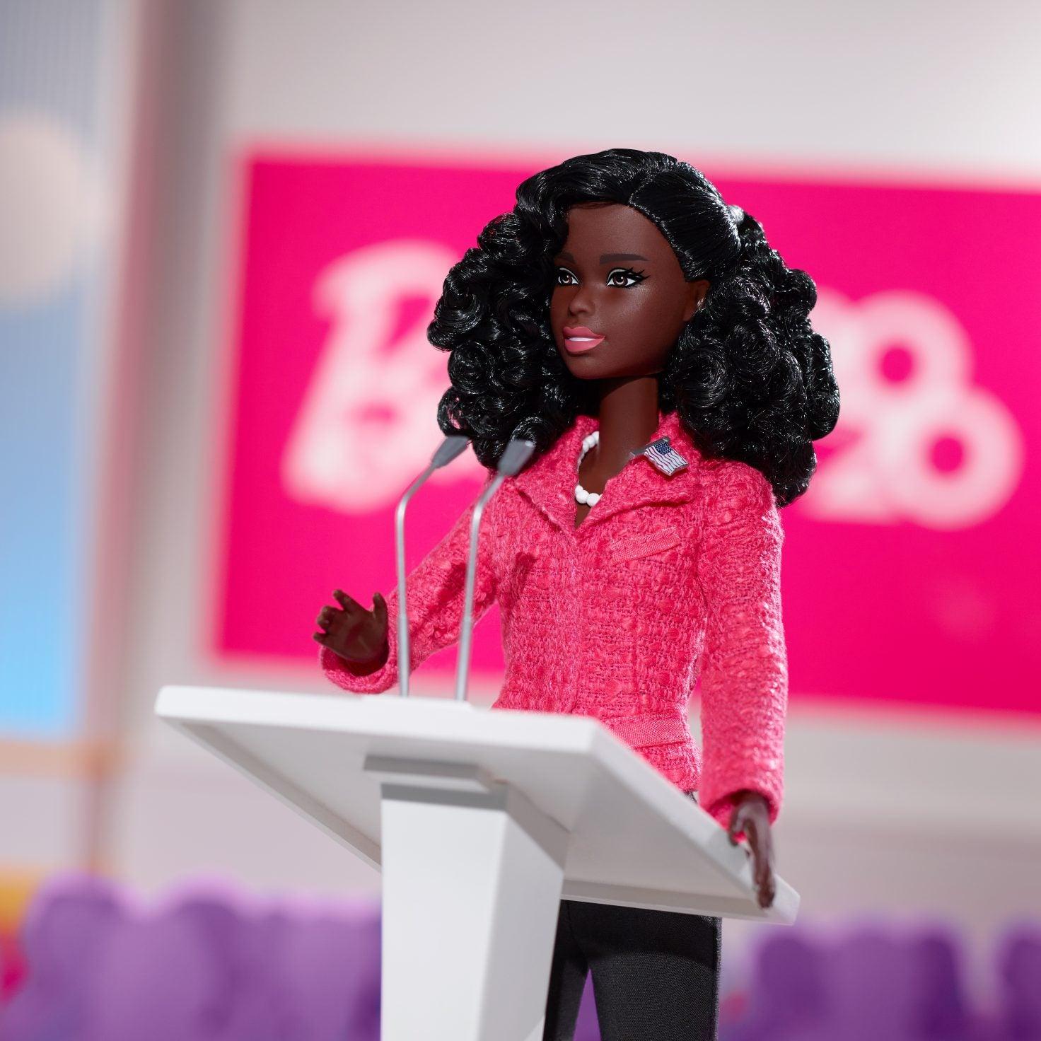Black Barbie Is Running For President