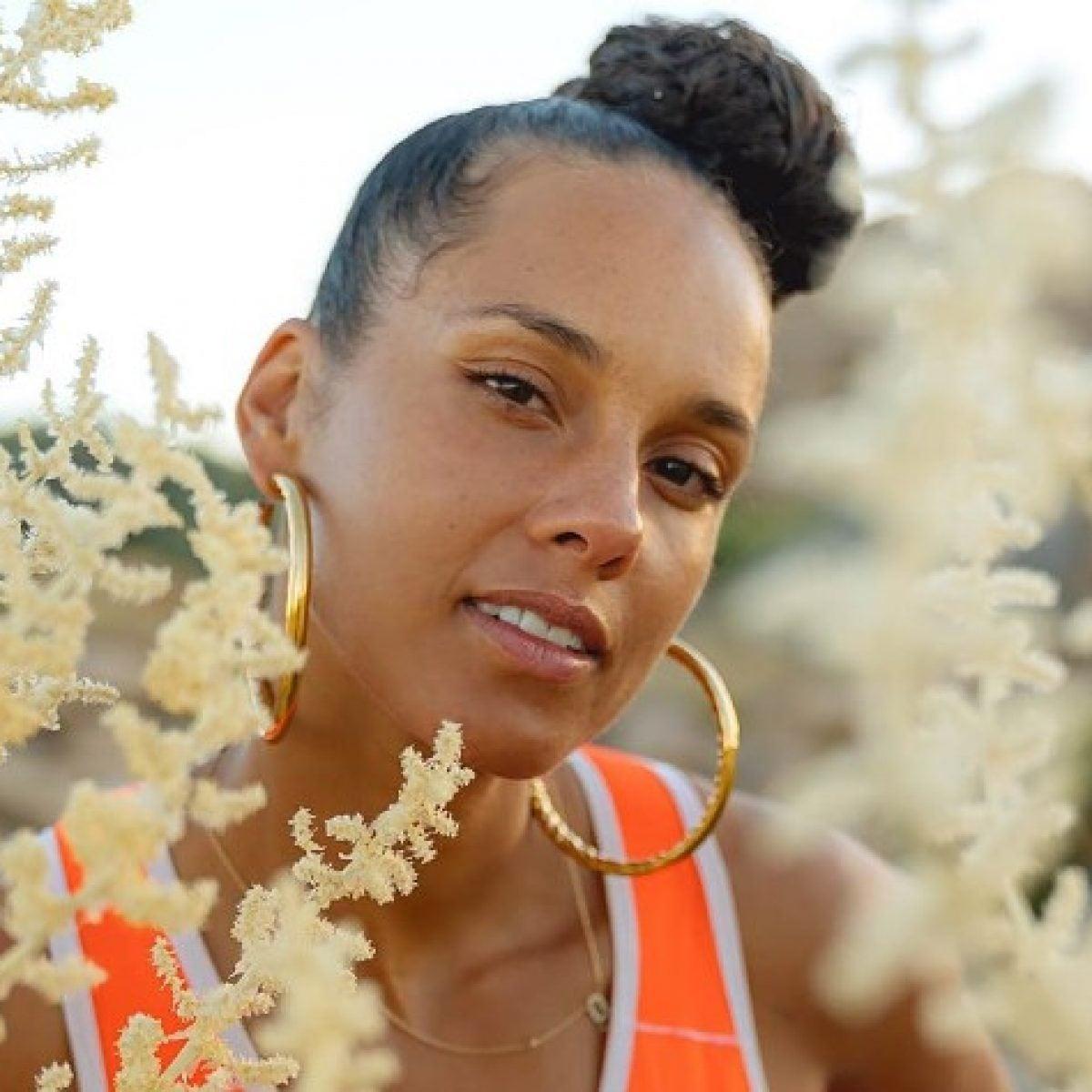 Alicia Keys, Monica, Erykah Badu And Other Celebrity Beauty Looks Of The Week