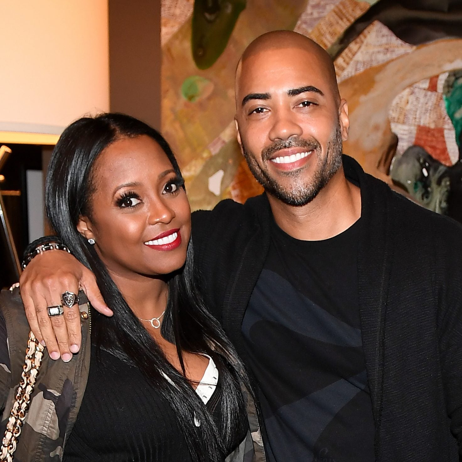 Actors Keshia Knight Pulliam and Brad James Made Memories On Their Boat Date
