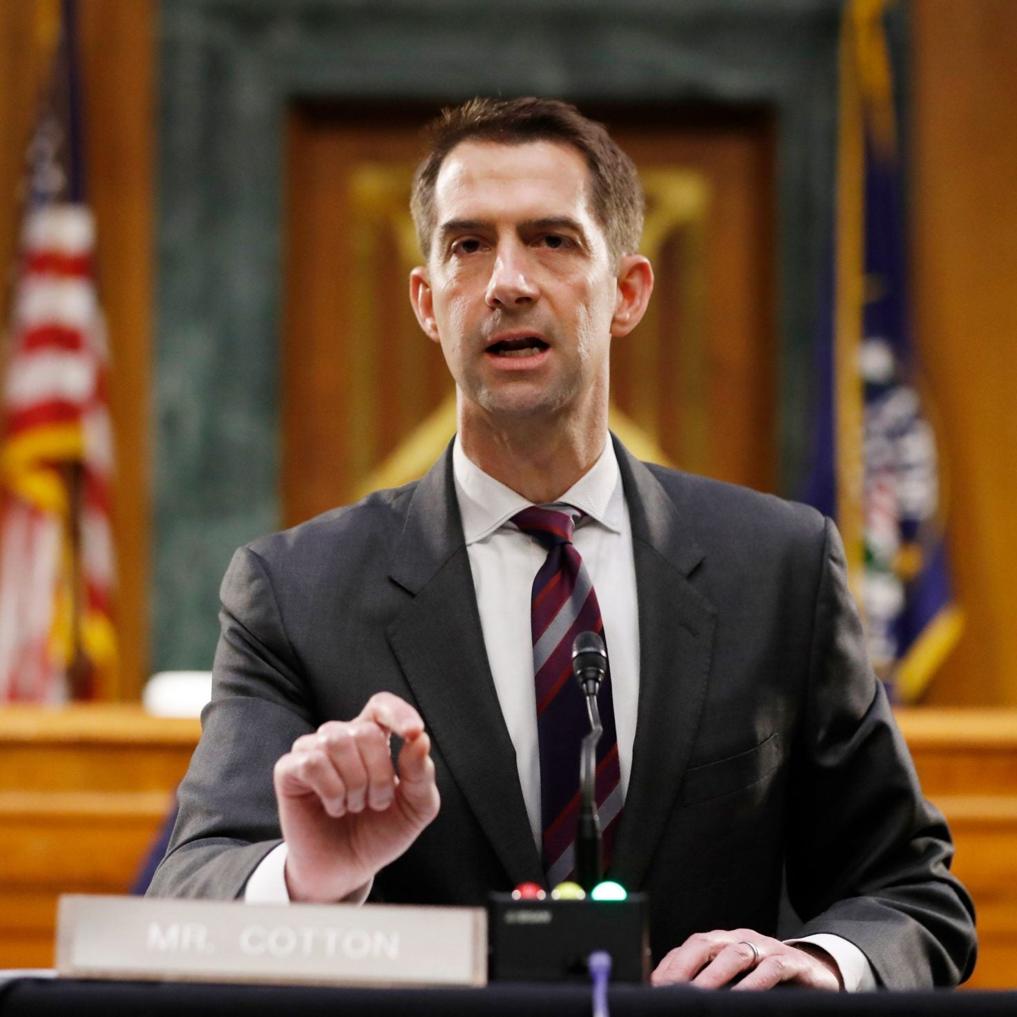 Twitter Ripped Into Republican Sen. Tom Cotton For Saying Slavery Was A 'Necessary Evil'