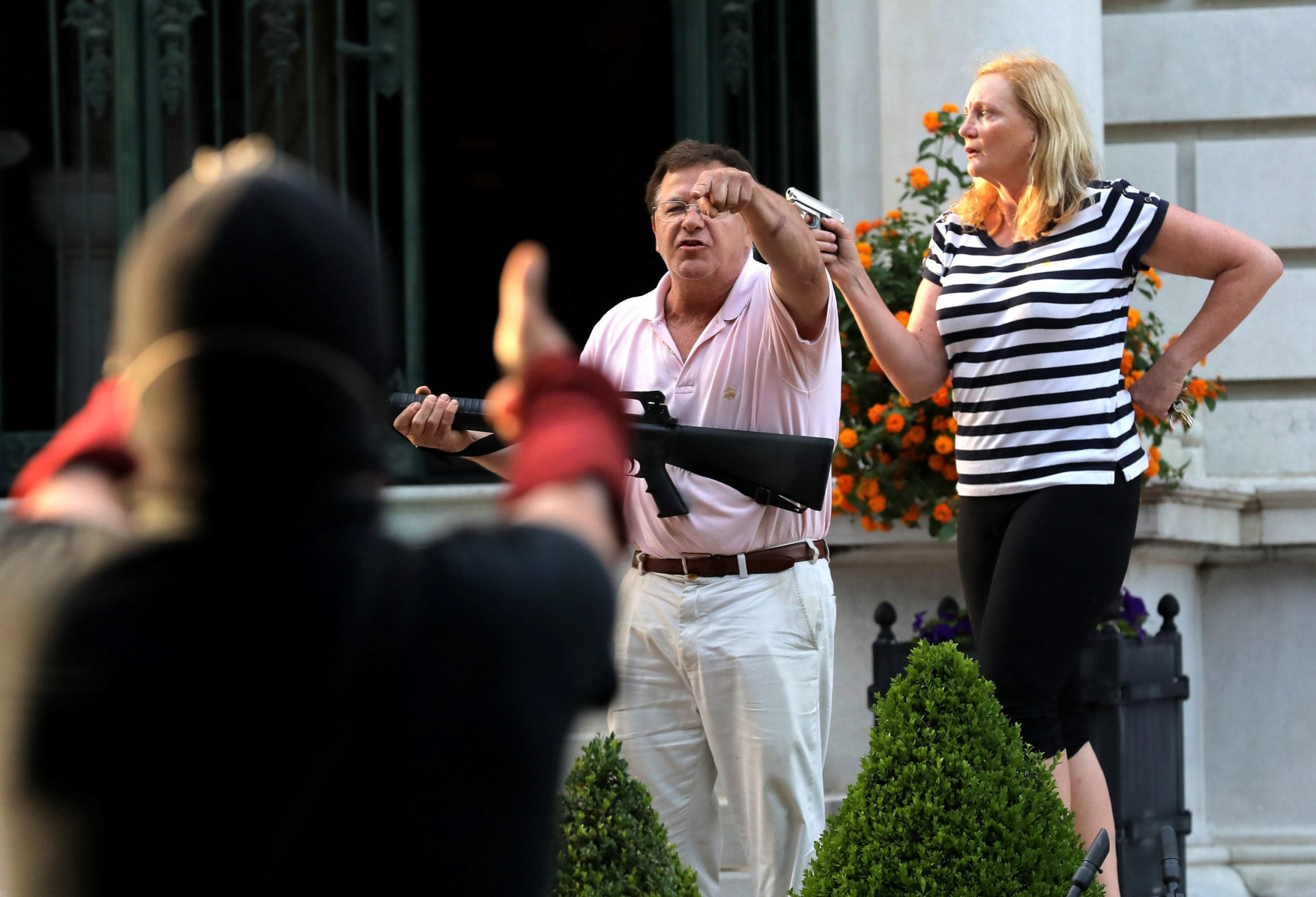 The McCloskeys, Who Pointed Guns At Protesters, To Speak At RNC