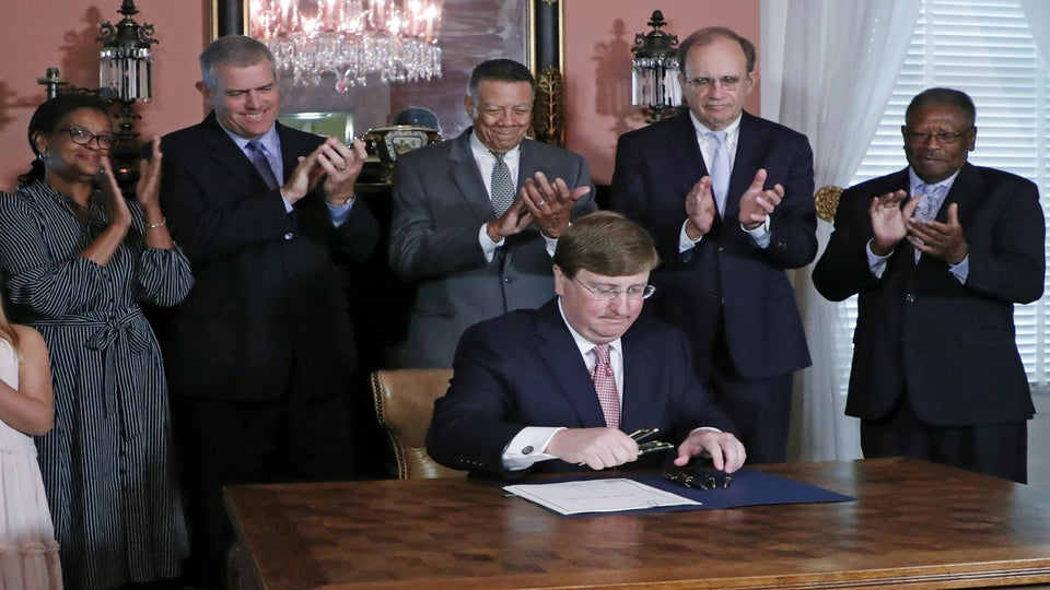 Mississippi Gov. Signs Bill Changing Problematic State Flag