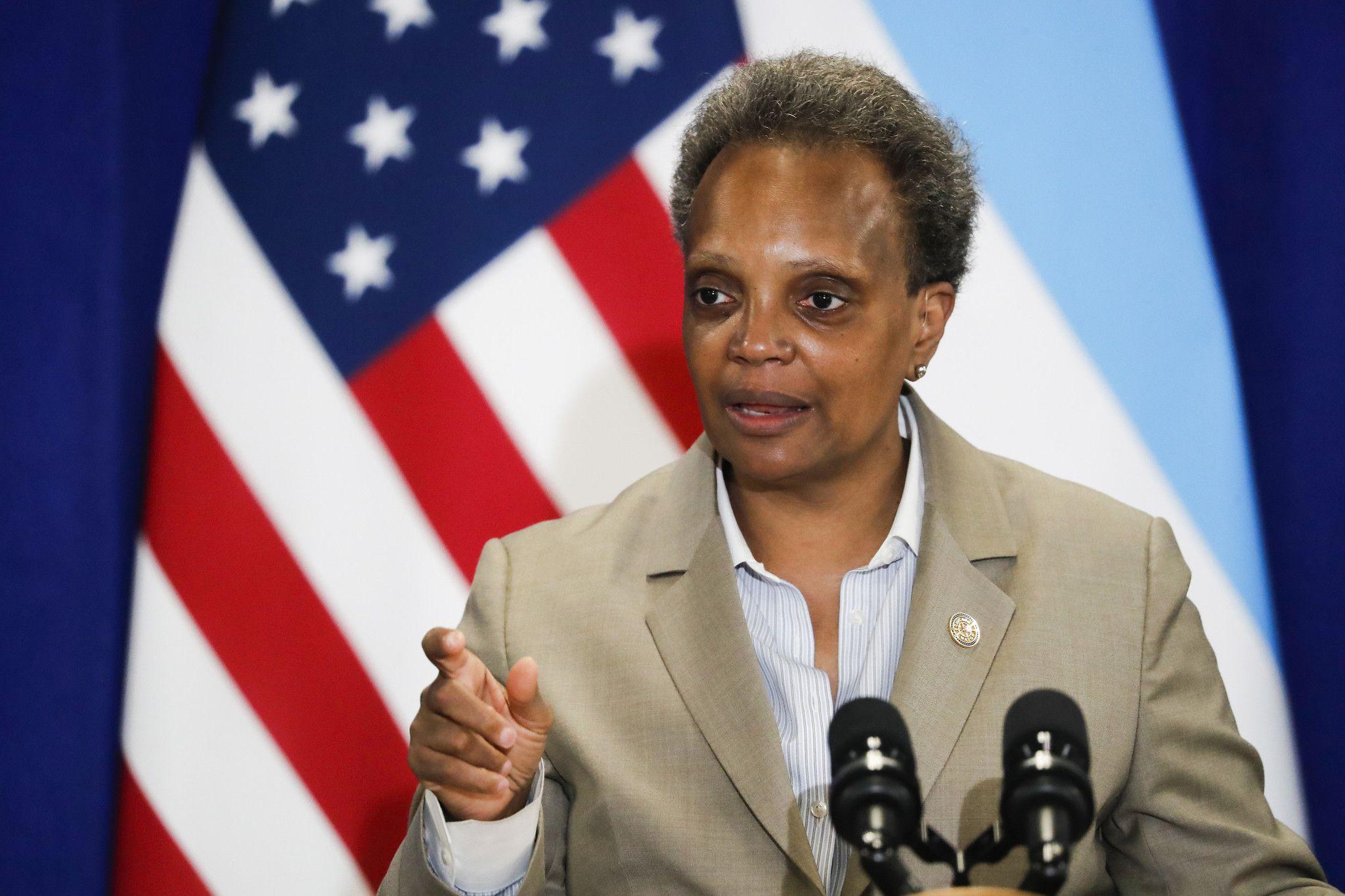 Chicago Mayor Lori Lightfoot Warns 'Karen' White House Press Sec: 'Watch Your Mouth'