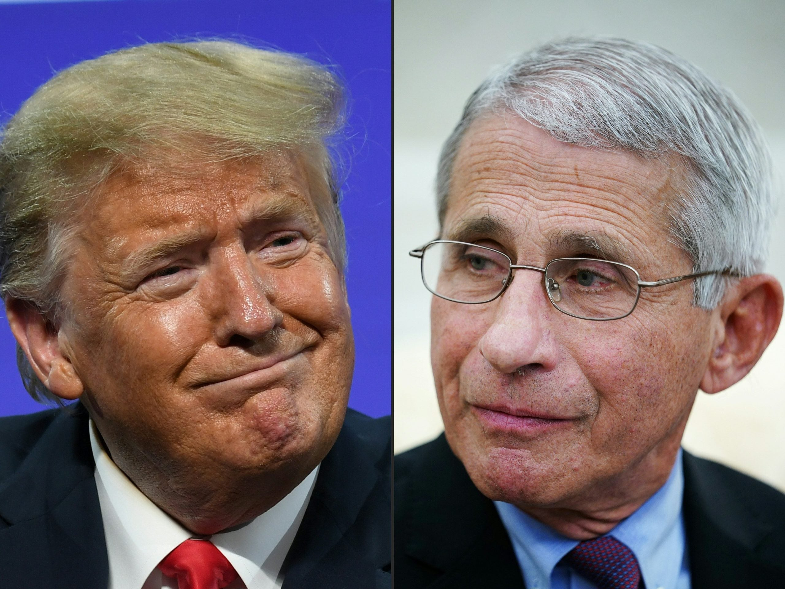 Trump Uses Briefing To Question Why He's Not As Popular As Fauci