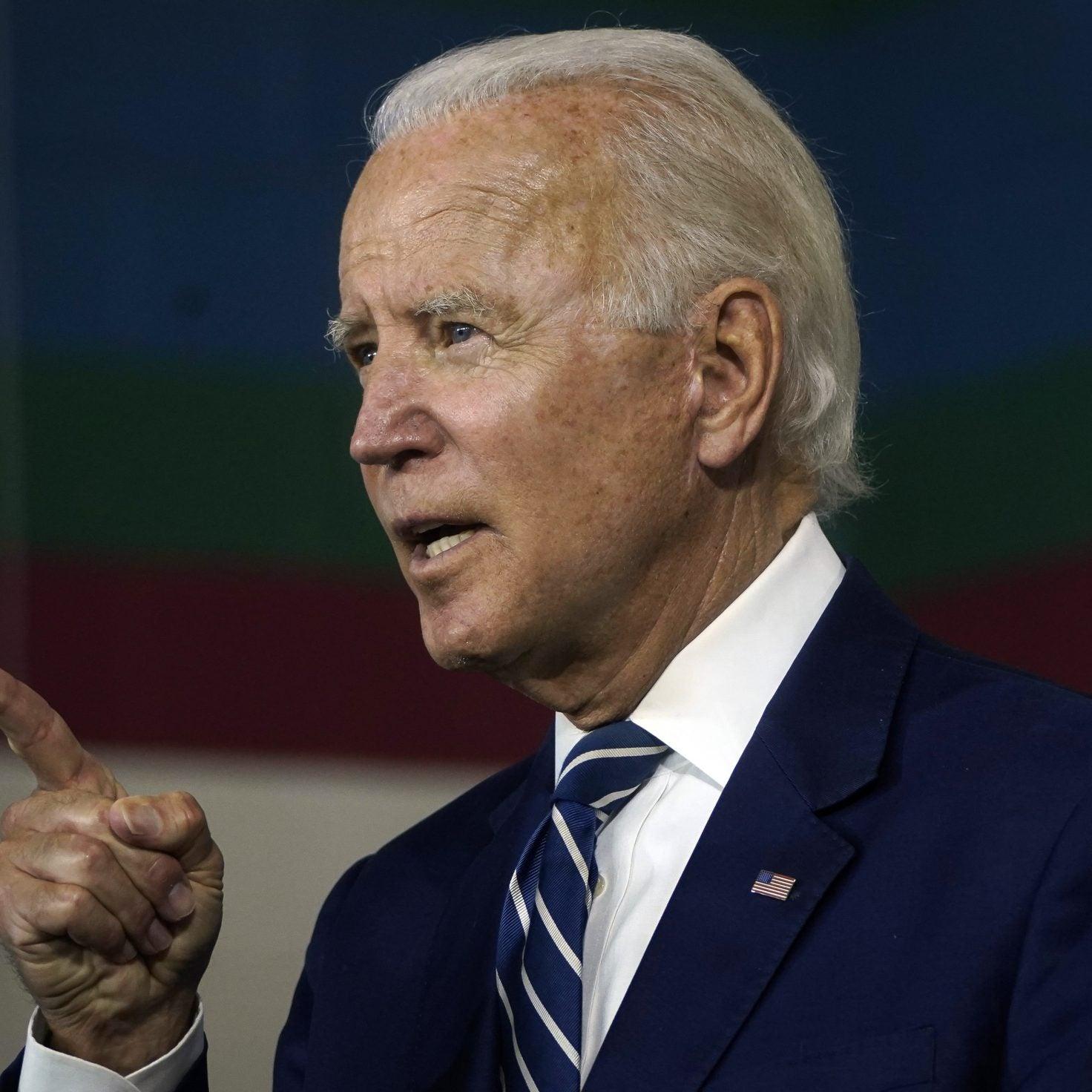 Joe Biden Says Trump Is The 'First' Racist President