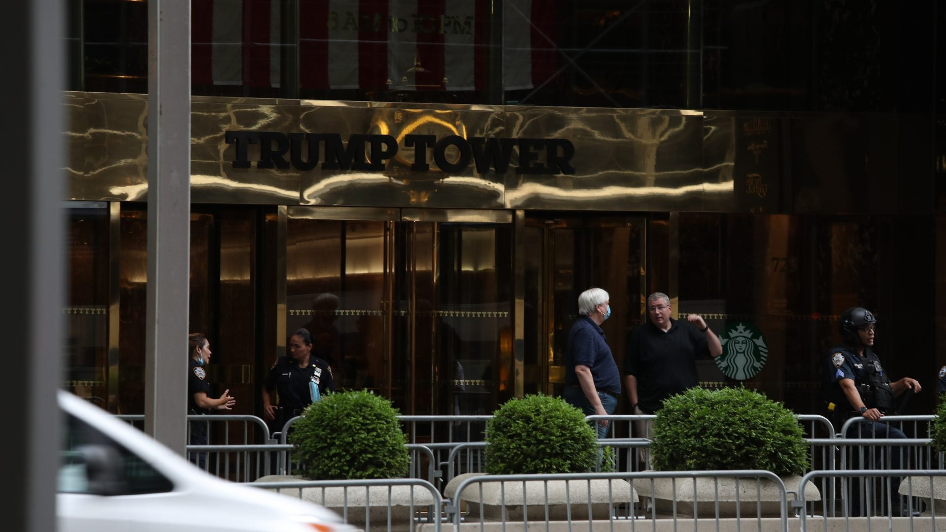 NYC Begins Painting Black Lives Matter Street Mural In Front Of Trump Tower