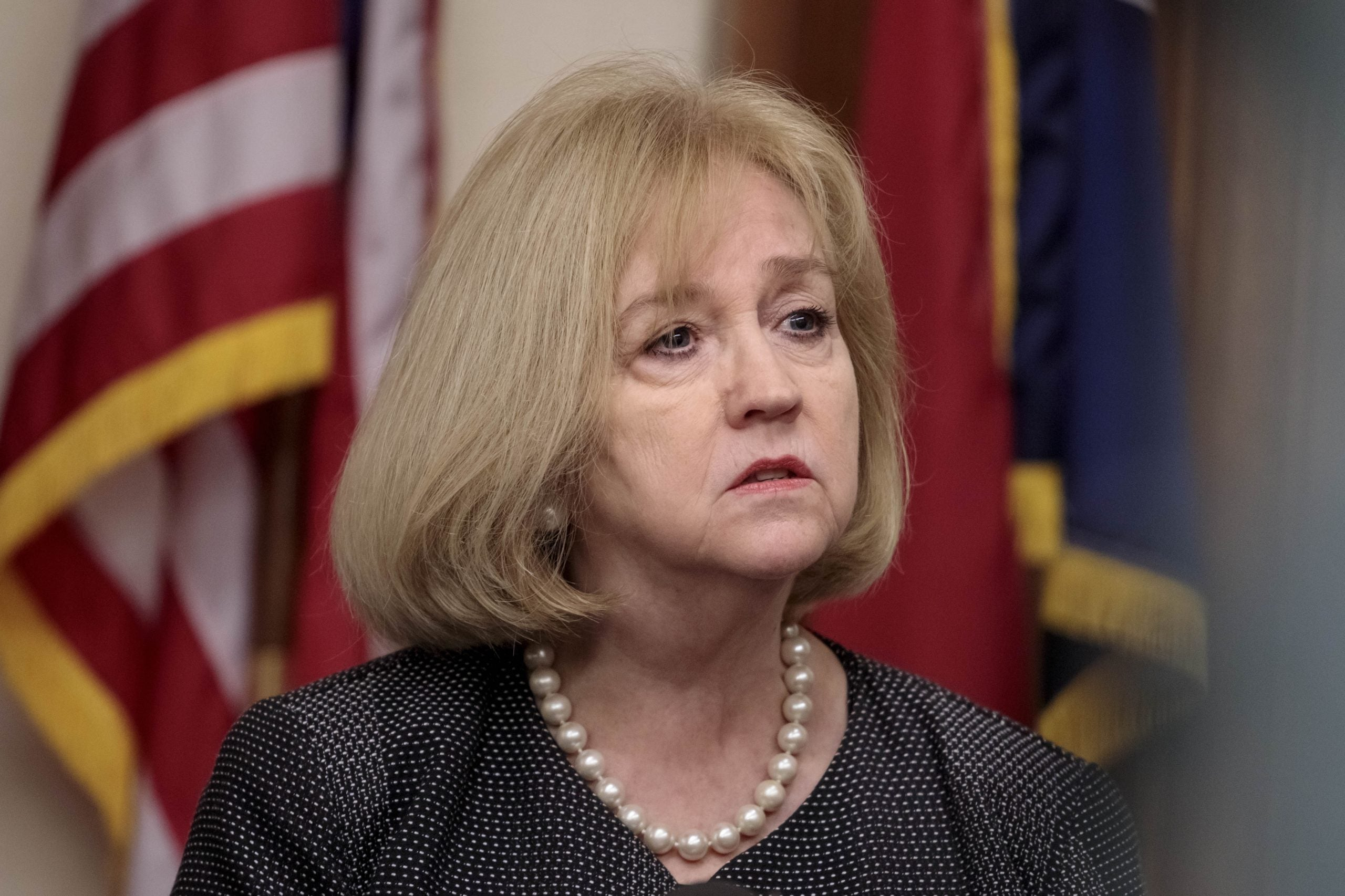 St. Louis Mayor Lyda Krewson Holds a Press Conference Following Protests