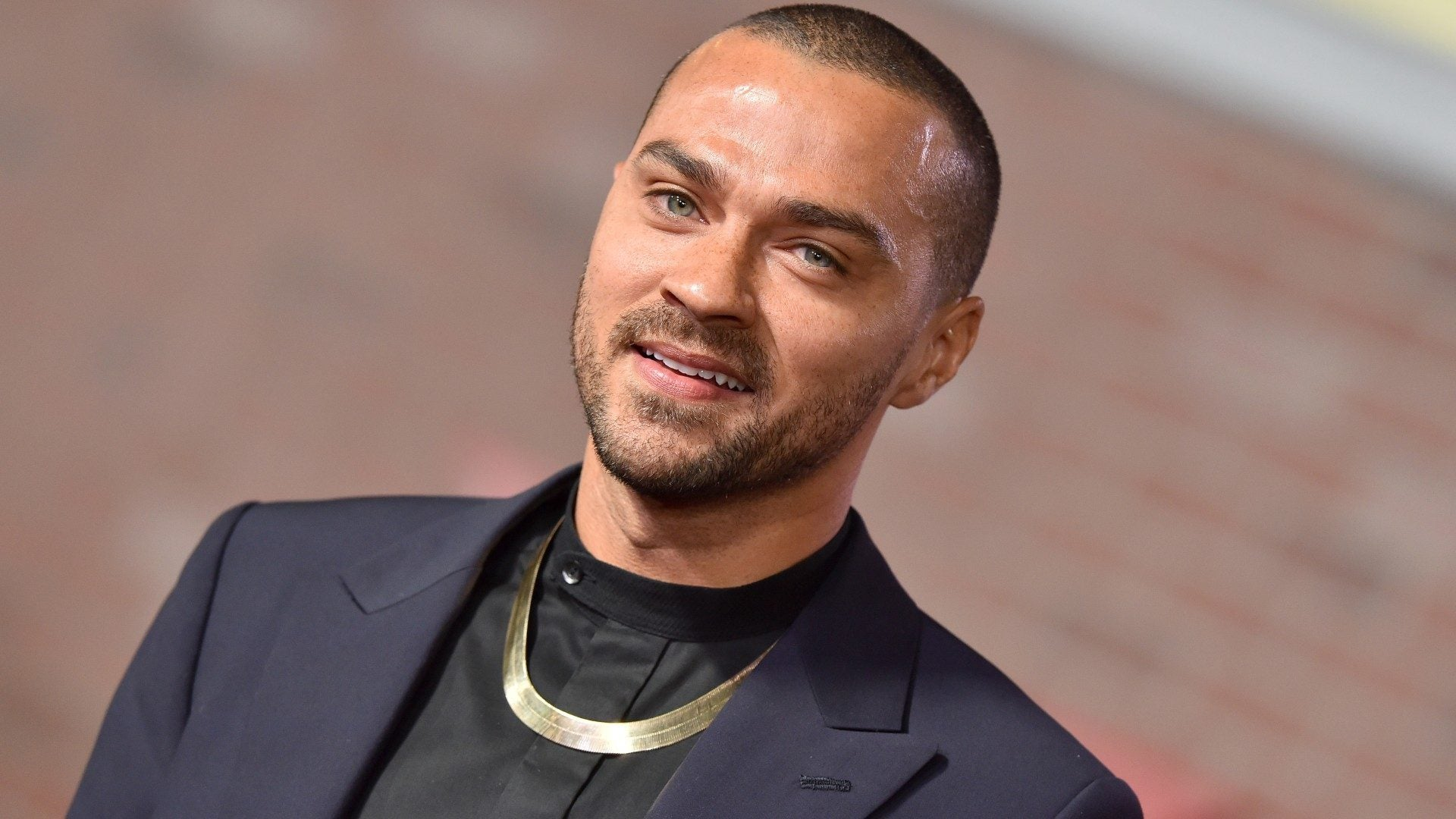 Jesse Williams Shows Off His Bold New Hair Color