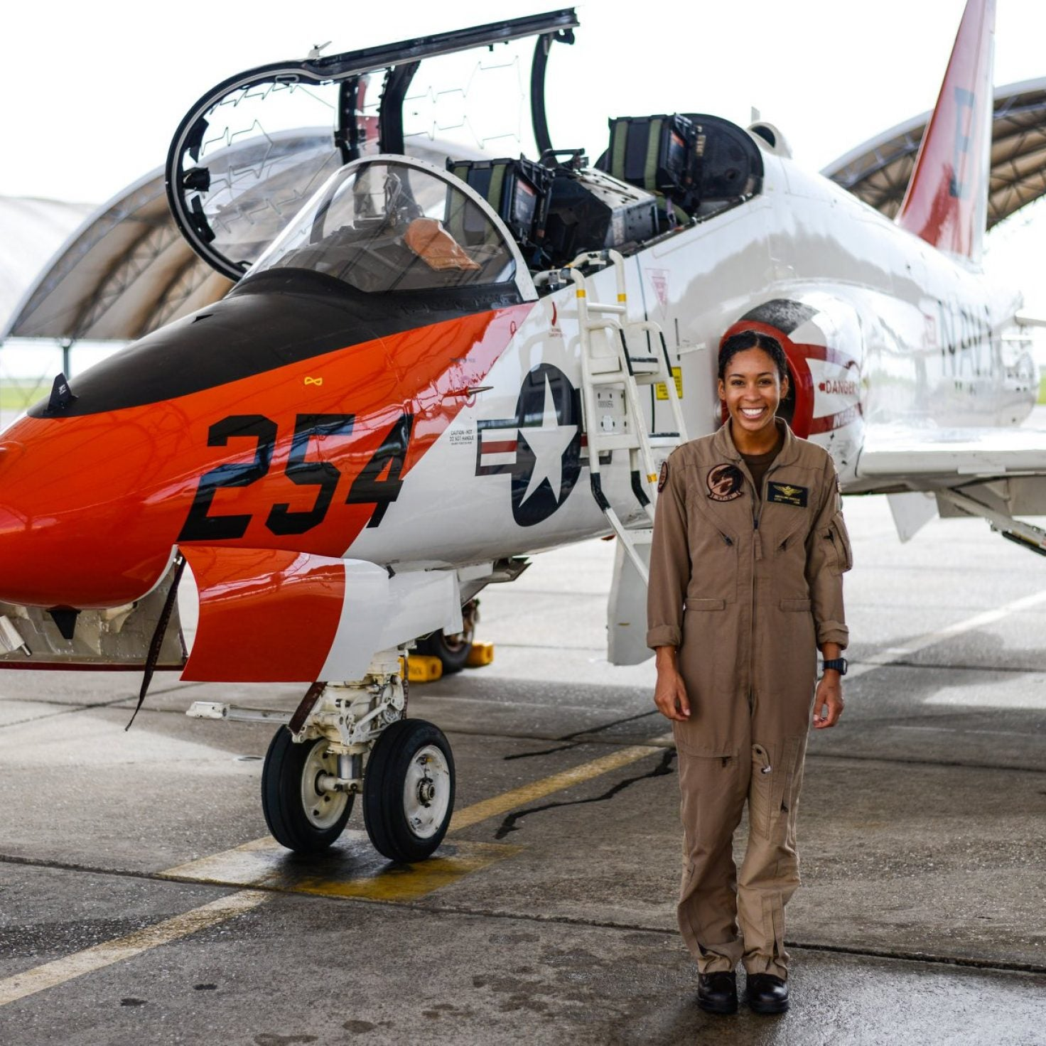 The U.S. Navy Celebrates First Black Woman Tactical Jet Pilot