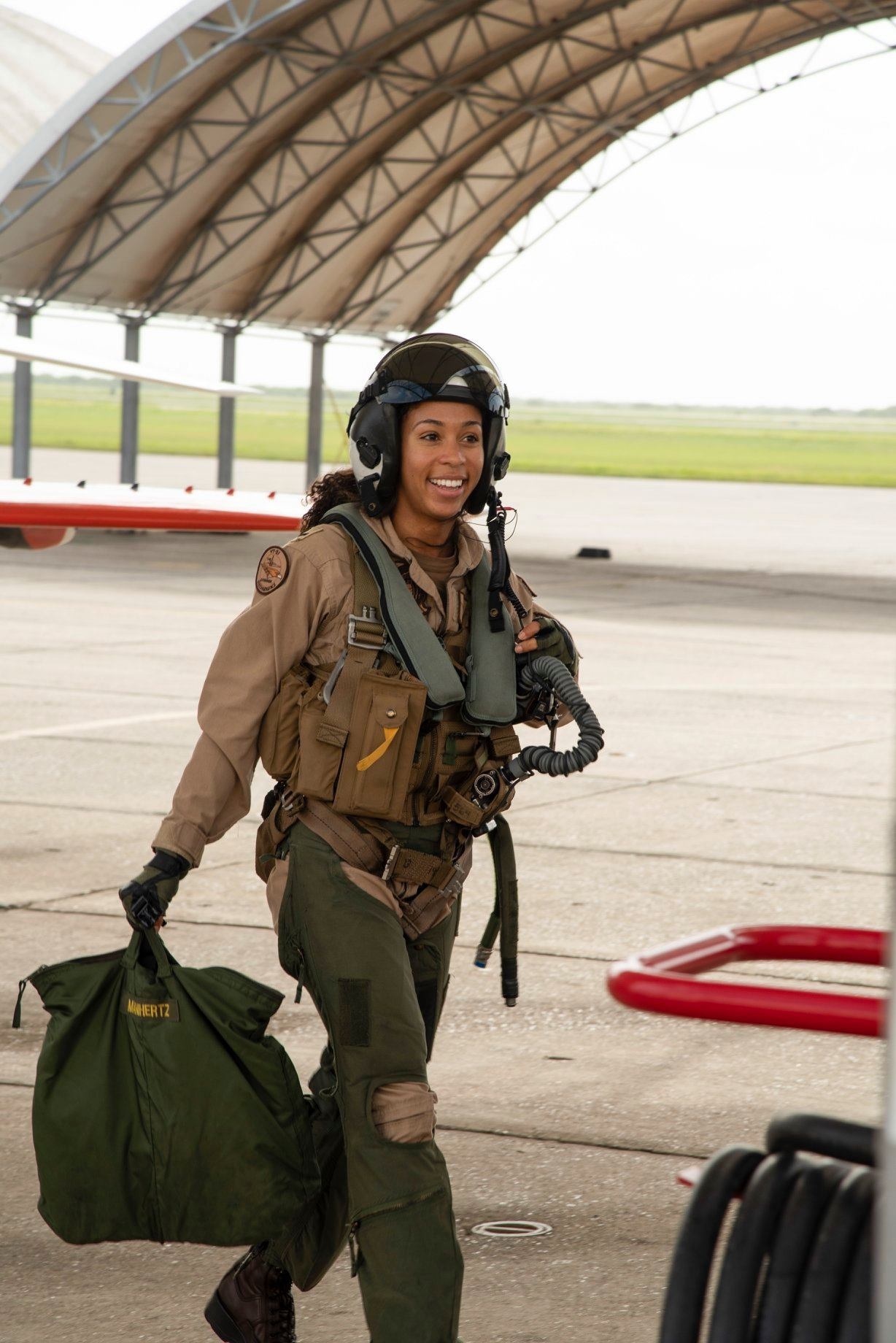 Lt. j.g. Madeline Swegle, U.S. Navy tactical jet pilot