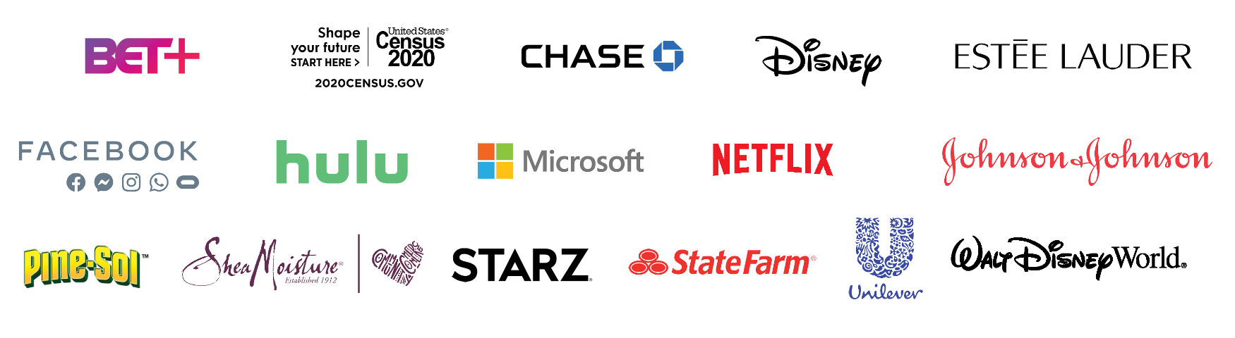 Experience Sponsor Logo Lockup