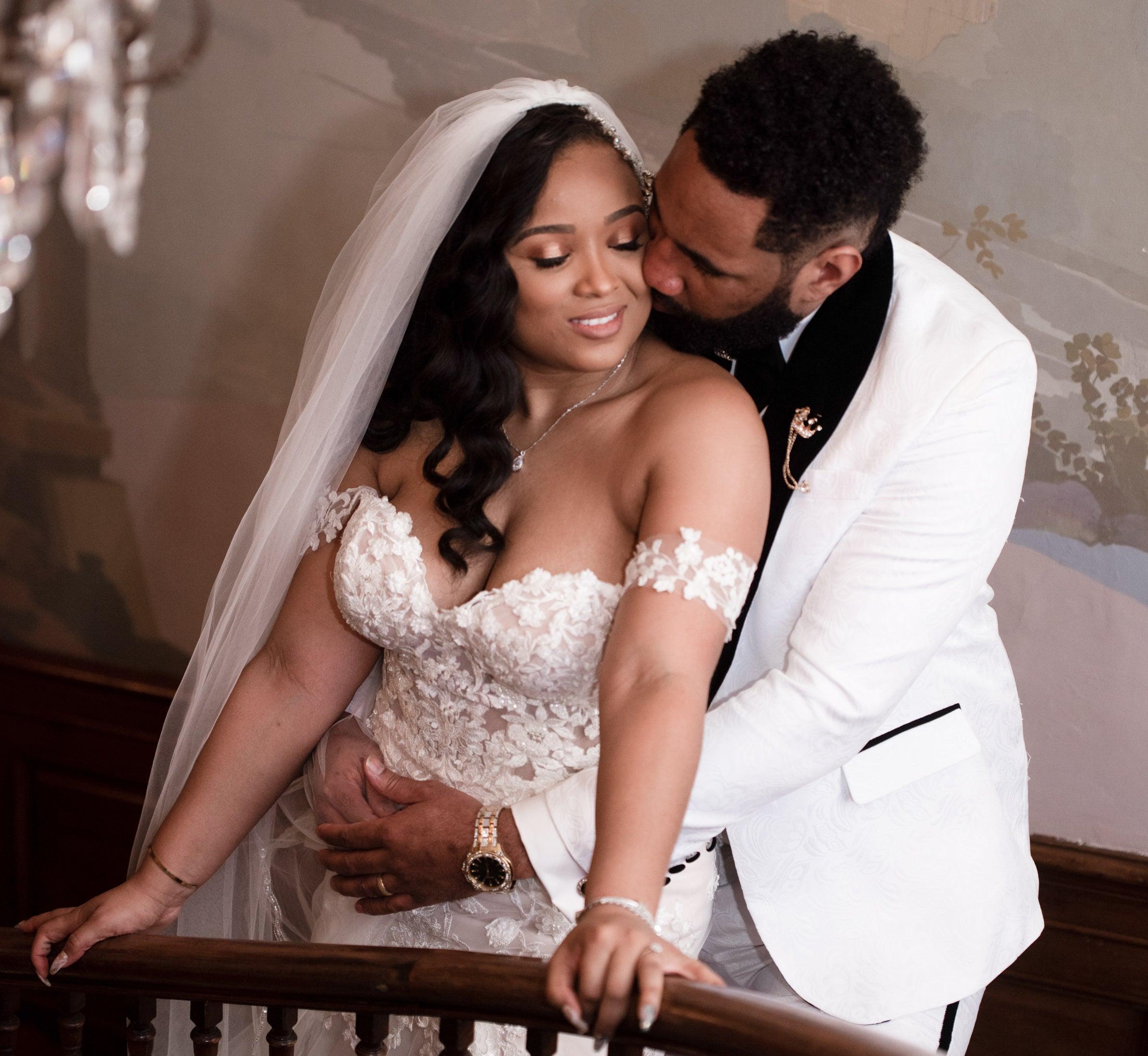 Bridal Bliss: Joscelyn And Josue's Winter Wedding In Atlanta Was Oh So Glamorous