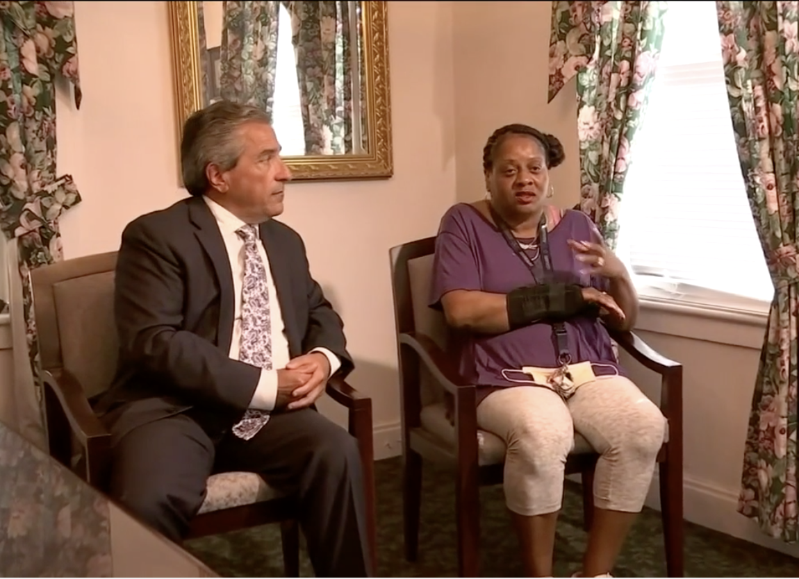 Chrystal Caldwell sits down with her attorney
