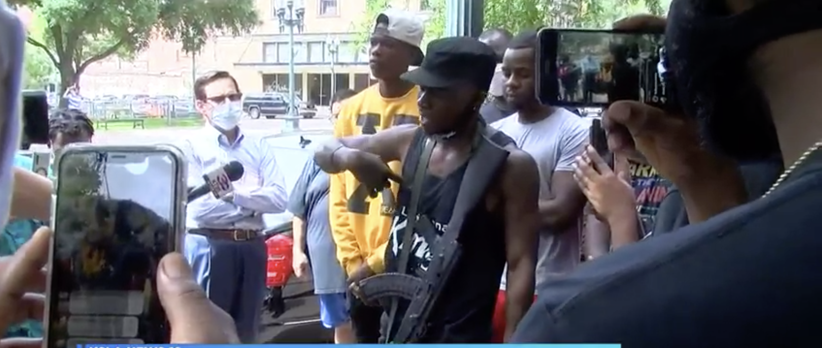 Armed Black Men Show Up To Hearing On Confederate Statues To Protect Black Women