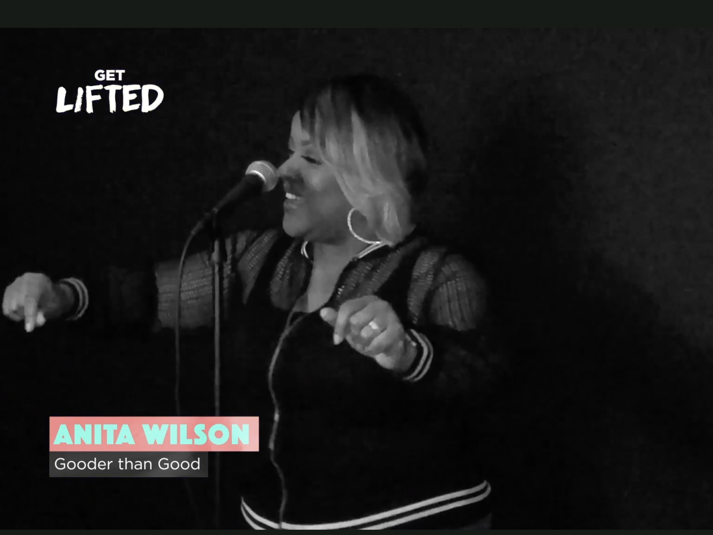 Anita Wilson Performance for Get Lifted