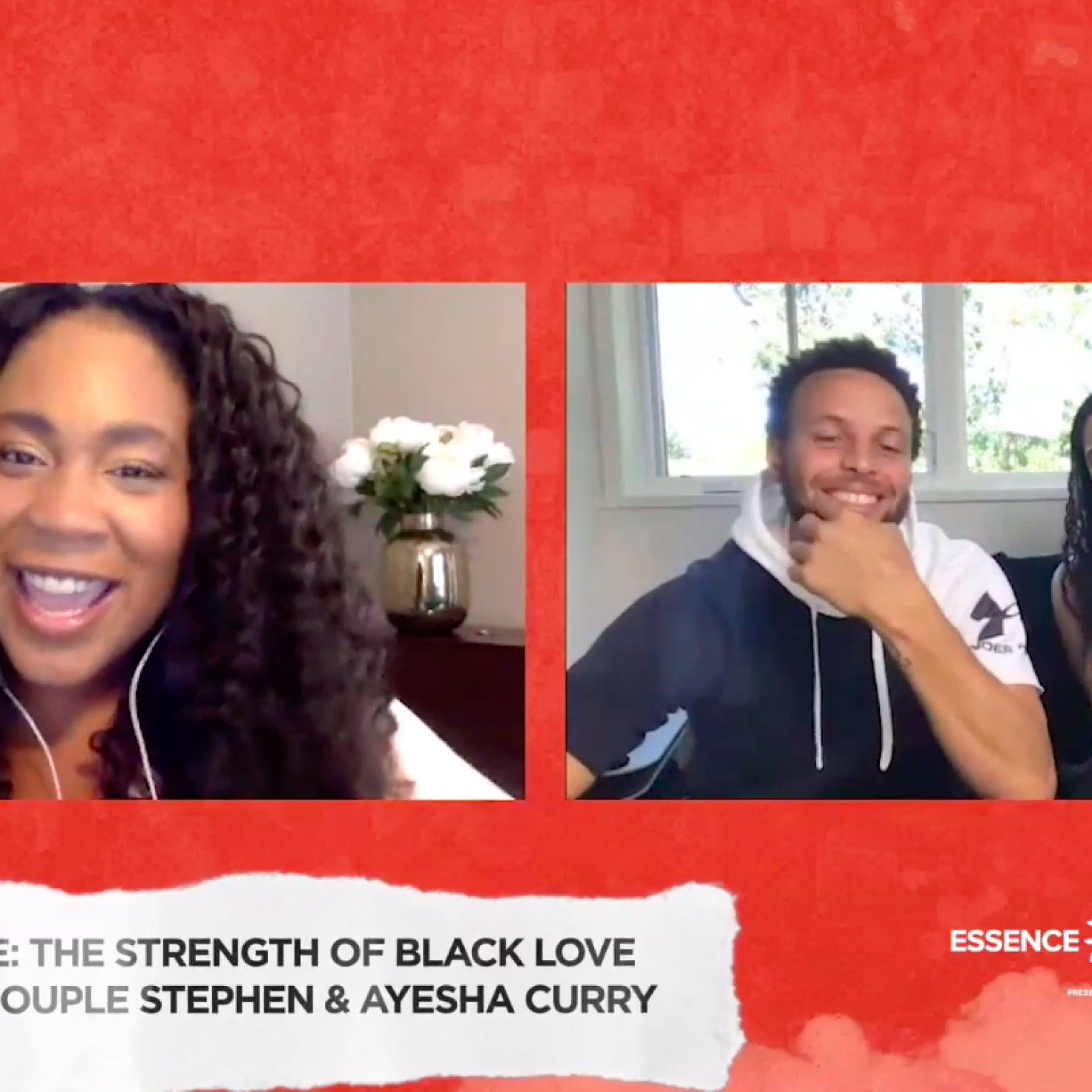 Unbreakable: The Strength of Black Love Stephen & Ayesha Curry