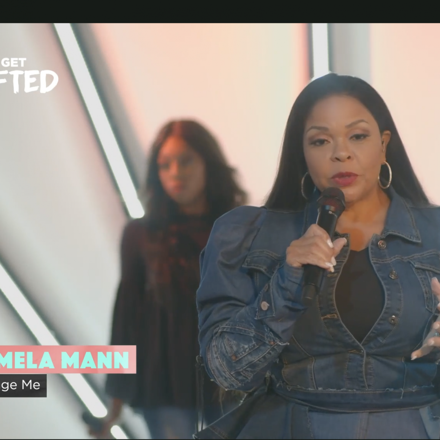 """Change Me,"" ""I Can Only Imagine,"" and ""Take Me to the King"" Performed by Tamela Mann"