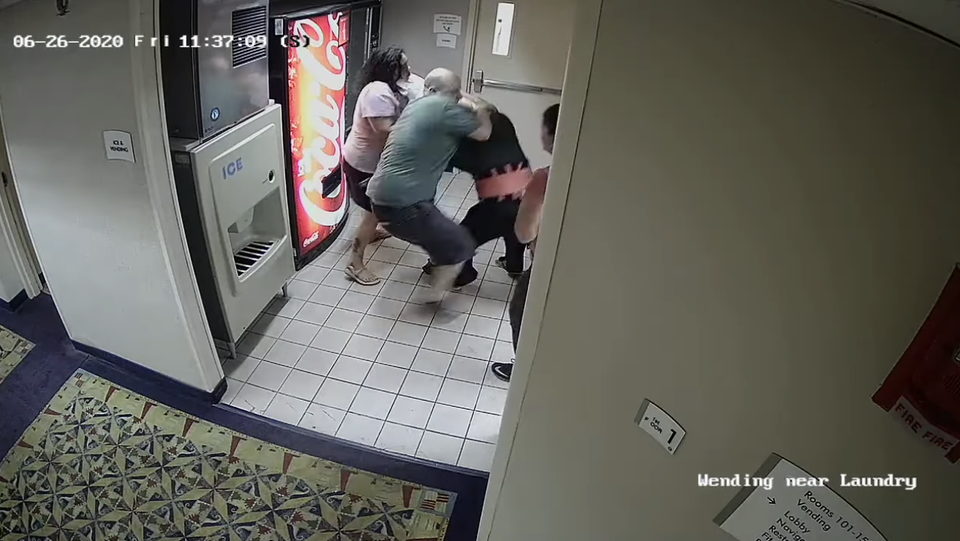 Police Search For White Couple Accused Of Savage Attack On Connecticut Hotel Worker