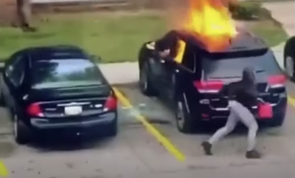 Everything We Know About That Fiery Jeep Video Making Waves On The Internet