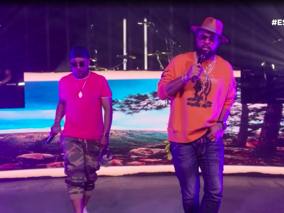Shaggy and Rayvon Perform 'Angel' for the 2020 ESSENCE Festival of Culture