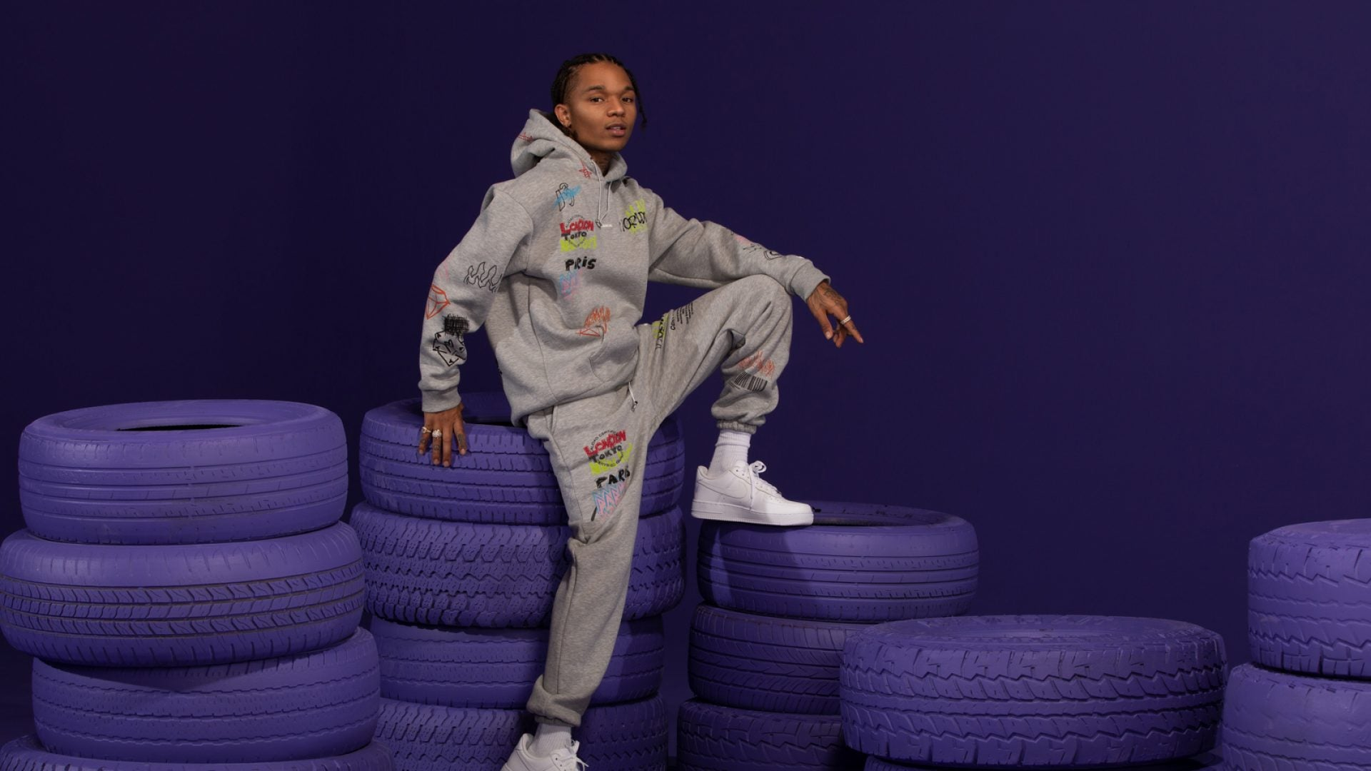 Swae Lee Launches Tracksuit Collection with BoohooMAN