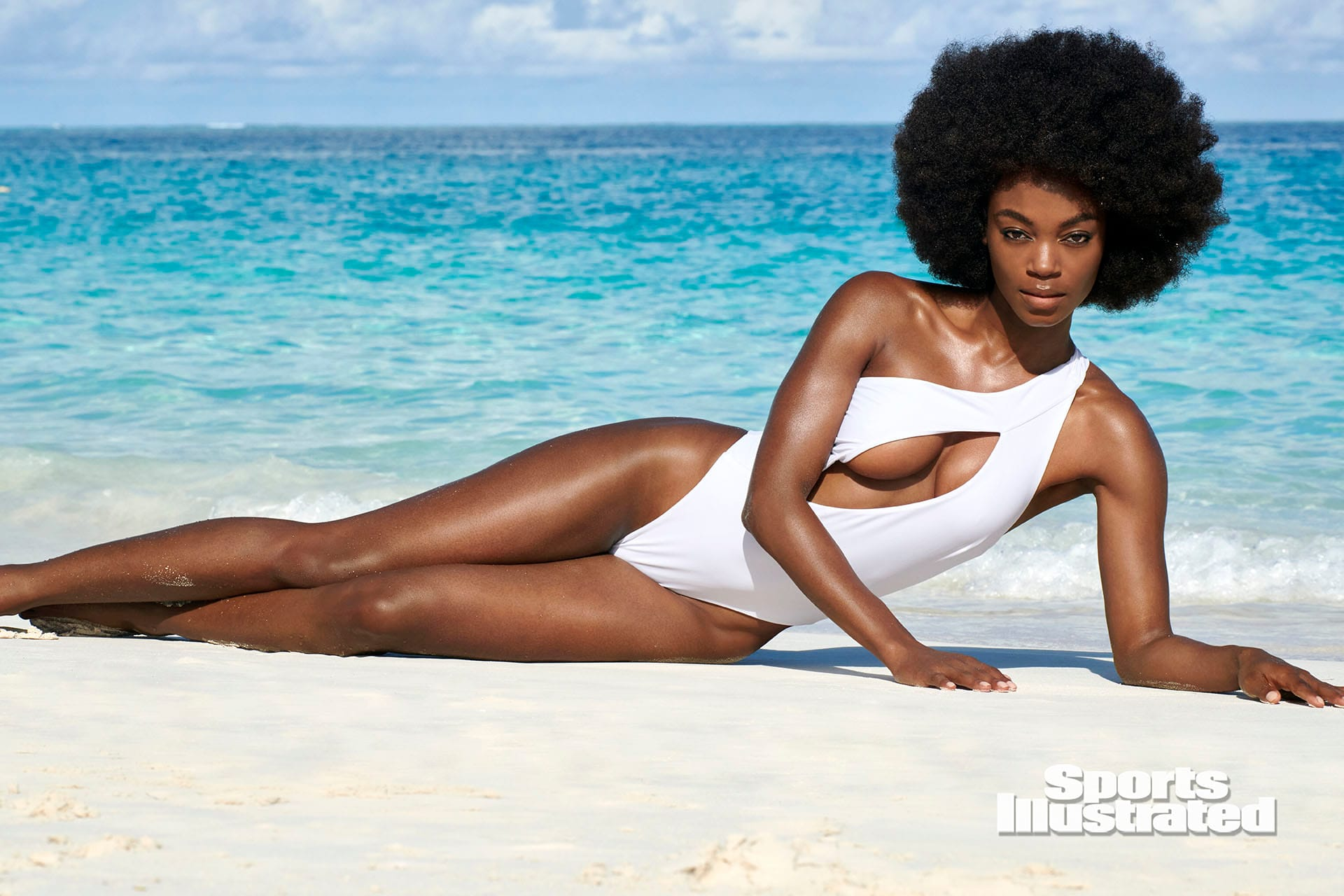 New Sports Illustrated Swimsuit Model Wears Afro In Photos Essence