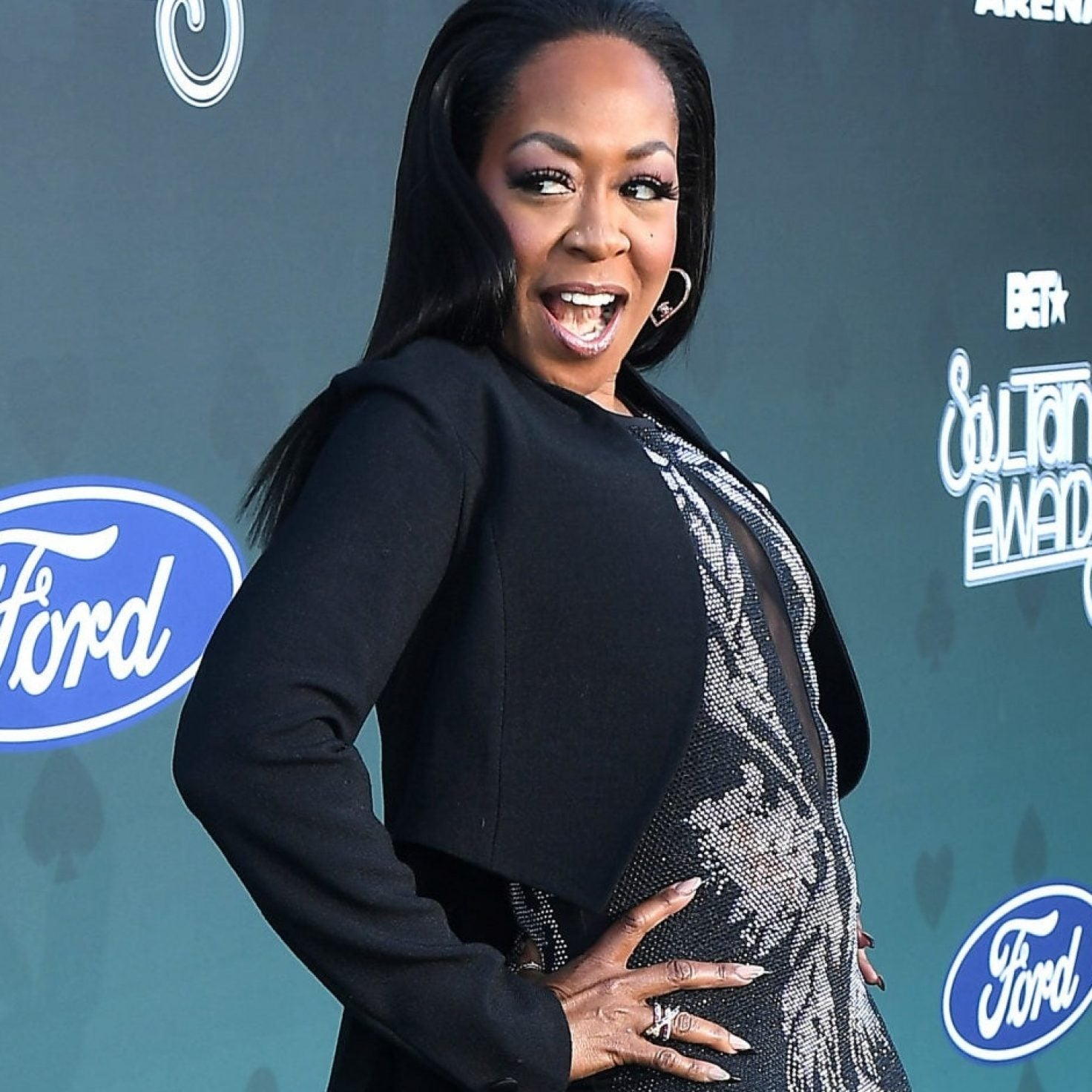 Tichina Arnold Has Been Pandemic-Prepared Since 1991!