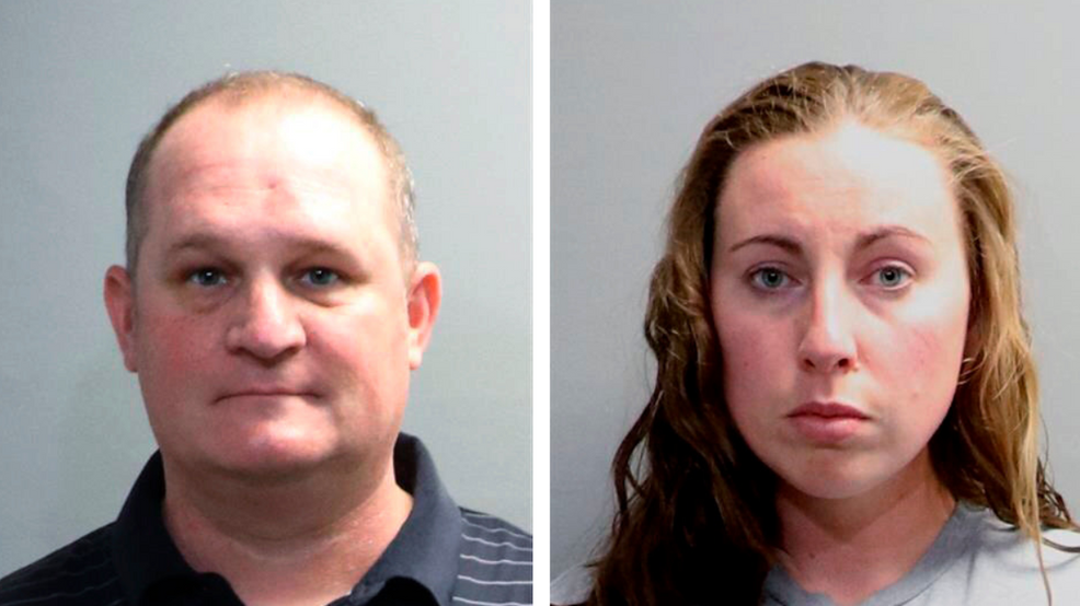 Mug shots of Michigan couple Eric and Jillian Wuestenberg