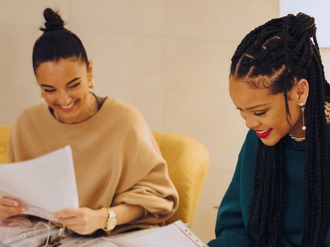 Rihanna And Designer Amina Muaddi Partner Up On Capsule Heel Collection