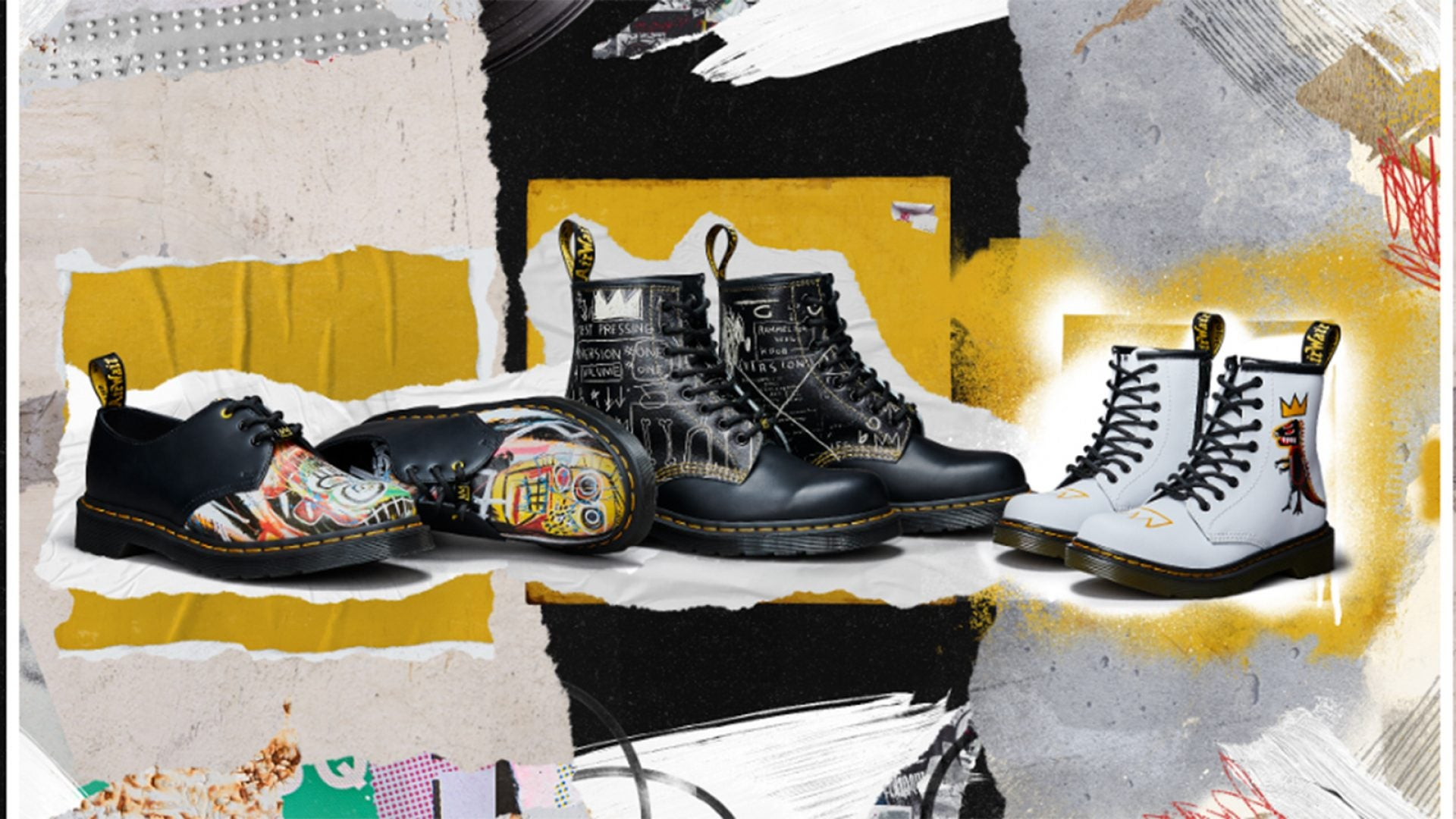 Dr. Martens Launches Collection With Jean-Michel Basquiat