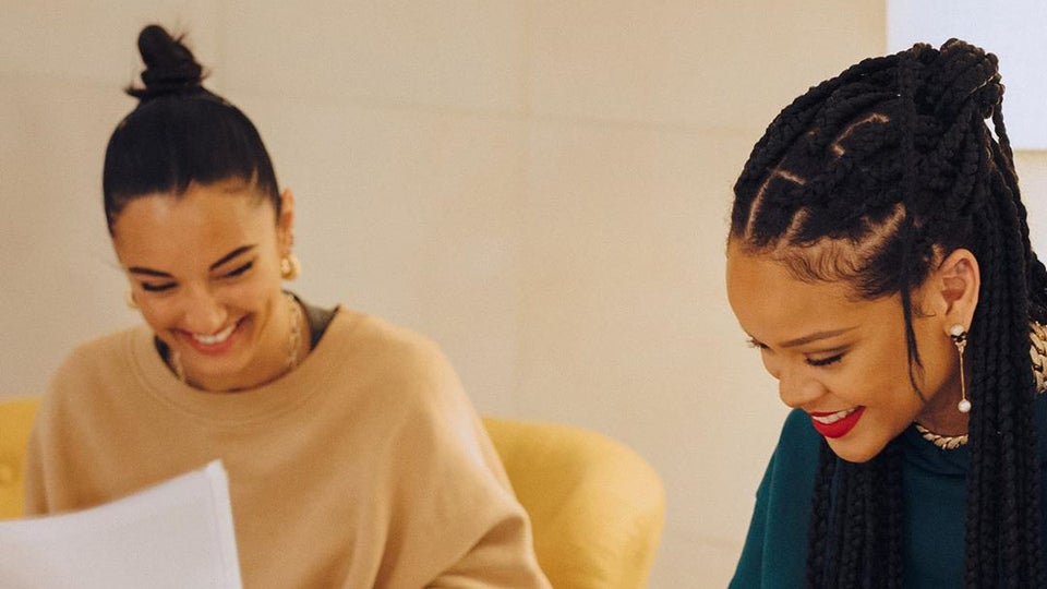 Rihanna And Shoe Designer Amina Muaddi's Collab