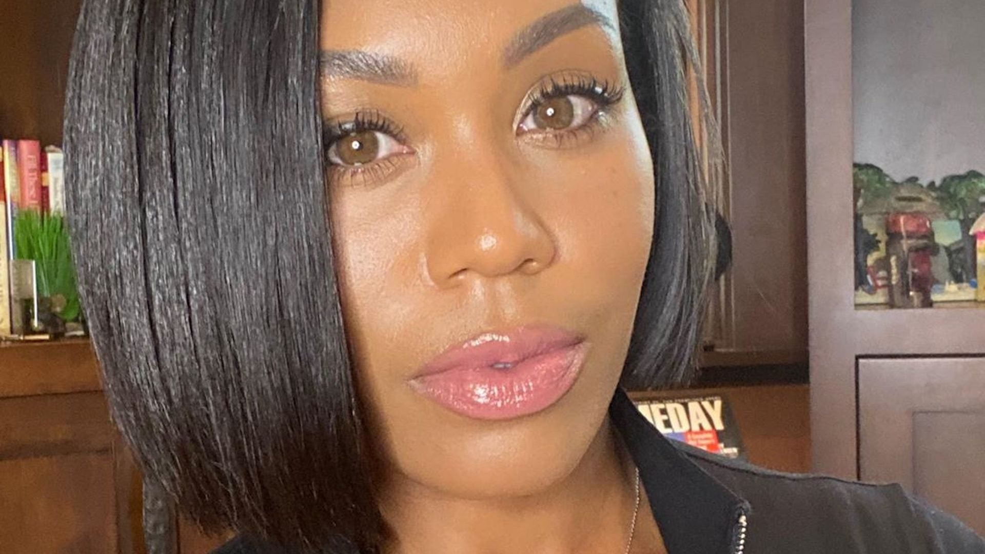 'Real Housewives' Star Monique Samuels Drinks Water To Maintain Her Glow