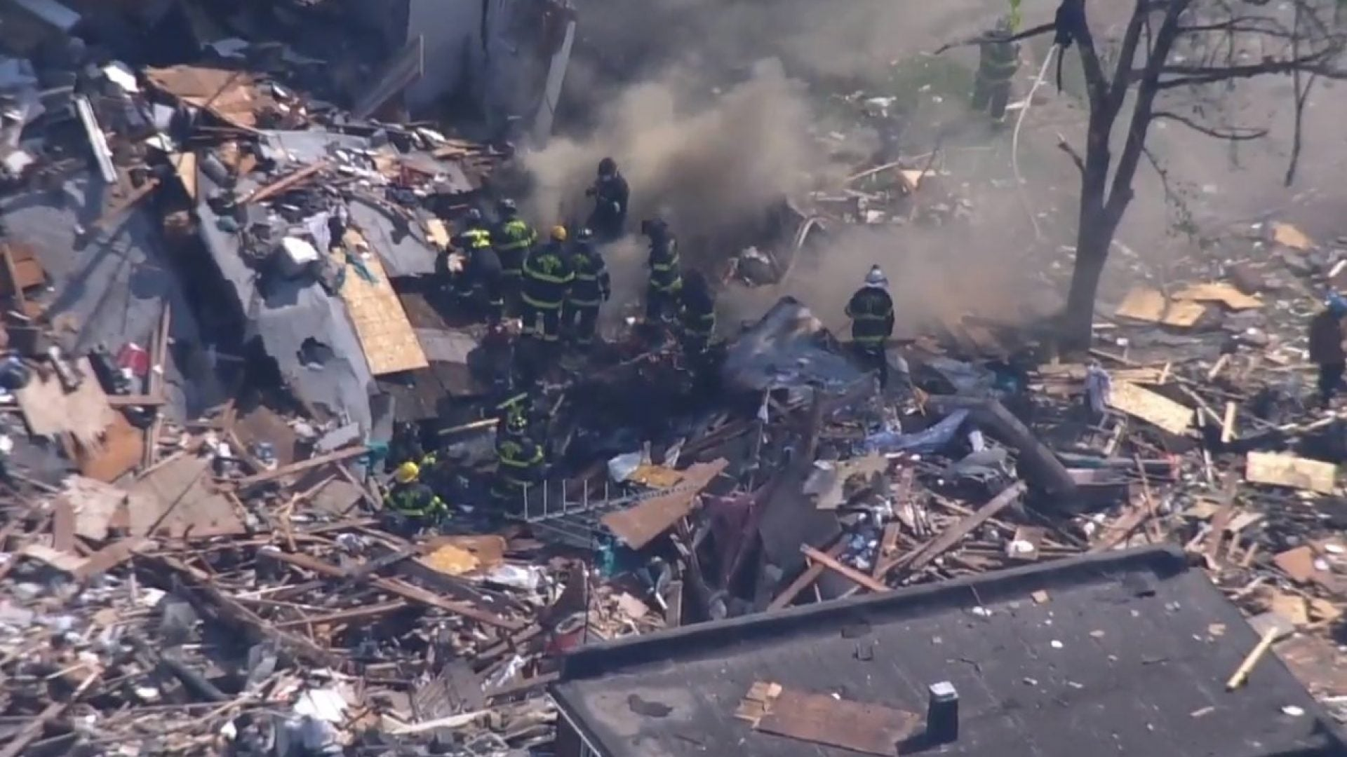 Major Explosion In Baltimore Leaves At Least 1 Dead, Others Injured