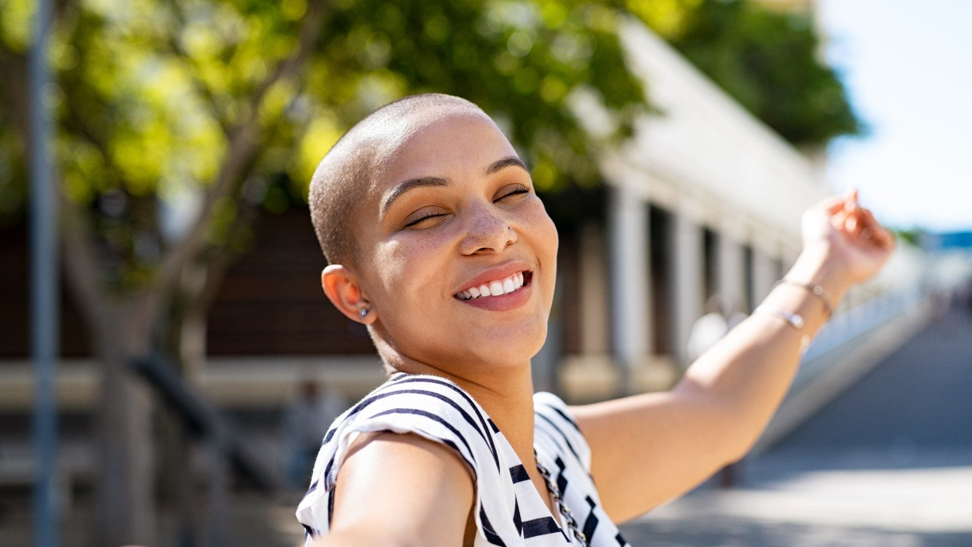 21 Bald Black Women That Make Us Want To Shave Our Heads