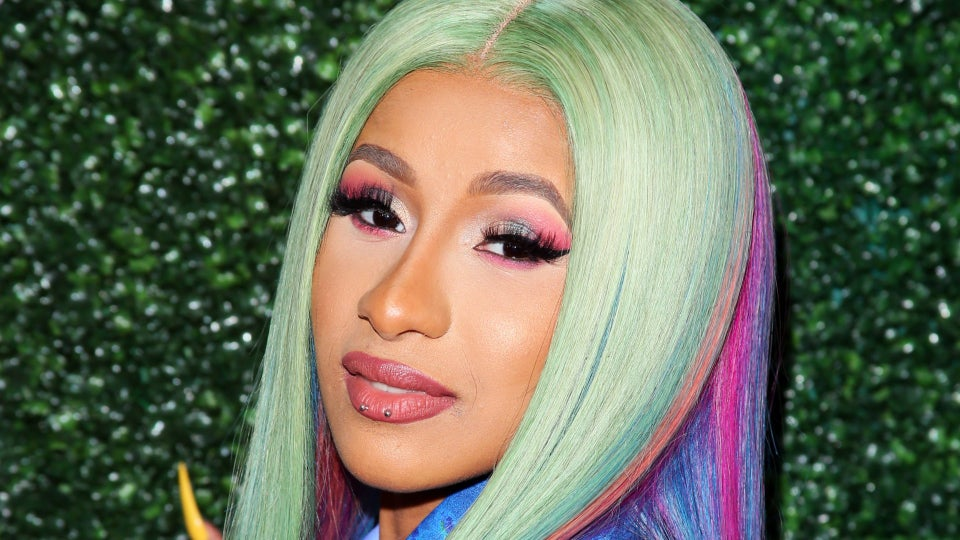 Cardi B's Chain Link Ponytail In The 'WAP' Video Is Everything