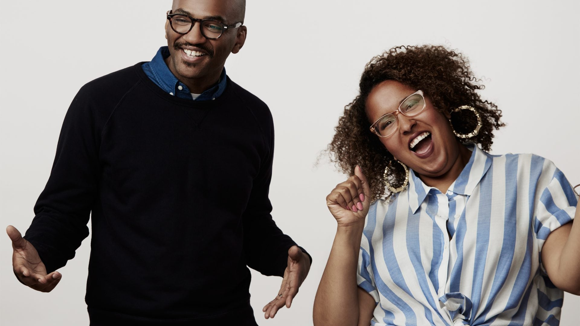 'The Nod' Hosts Brittany Luse and Eric Eddings Are Bringing Blackness To Quibi