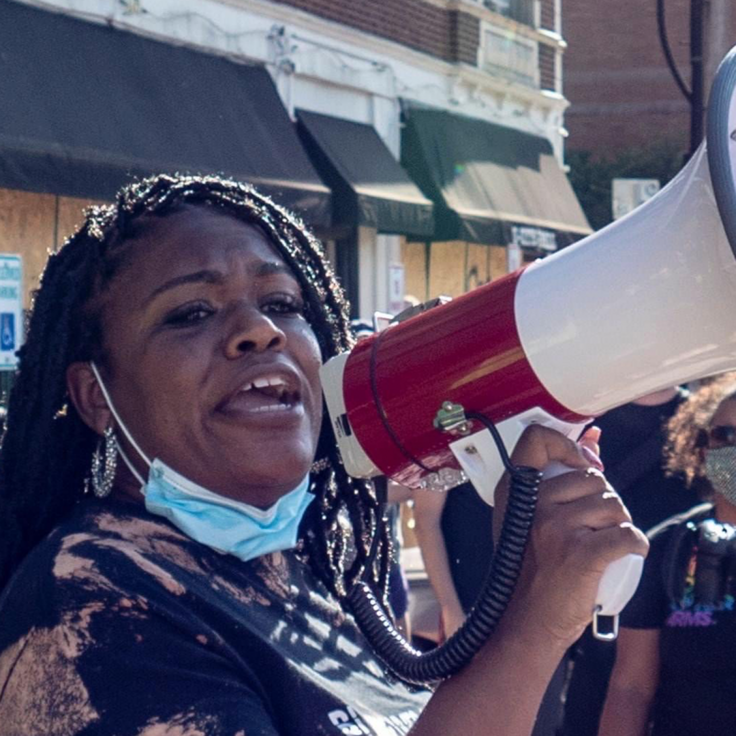 Activist Cori Bush Presents A Fierce Challenge For Missouri's Congressional Mainstay