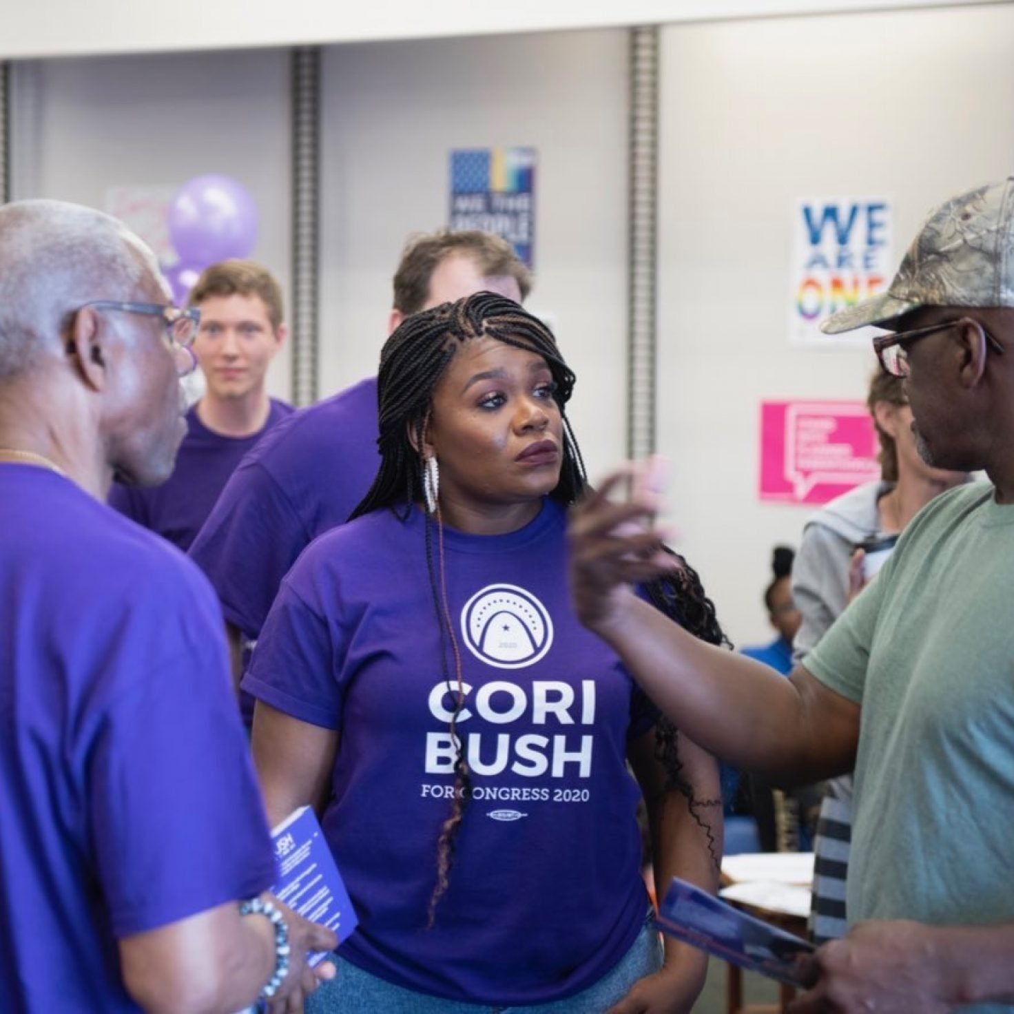 Activist Cori Bush Defeats 20-Year Incumbent In Missouri House Race