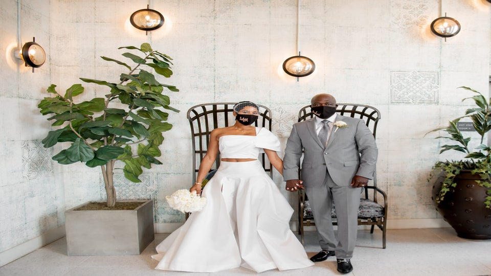 Bridal Bliss: Dorian And Oludotun's Golf Course Wedding