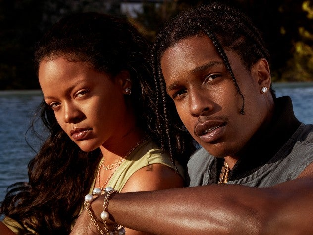 Rihanna And A$AP Rocky Talk Self-Care And Fenty Skin